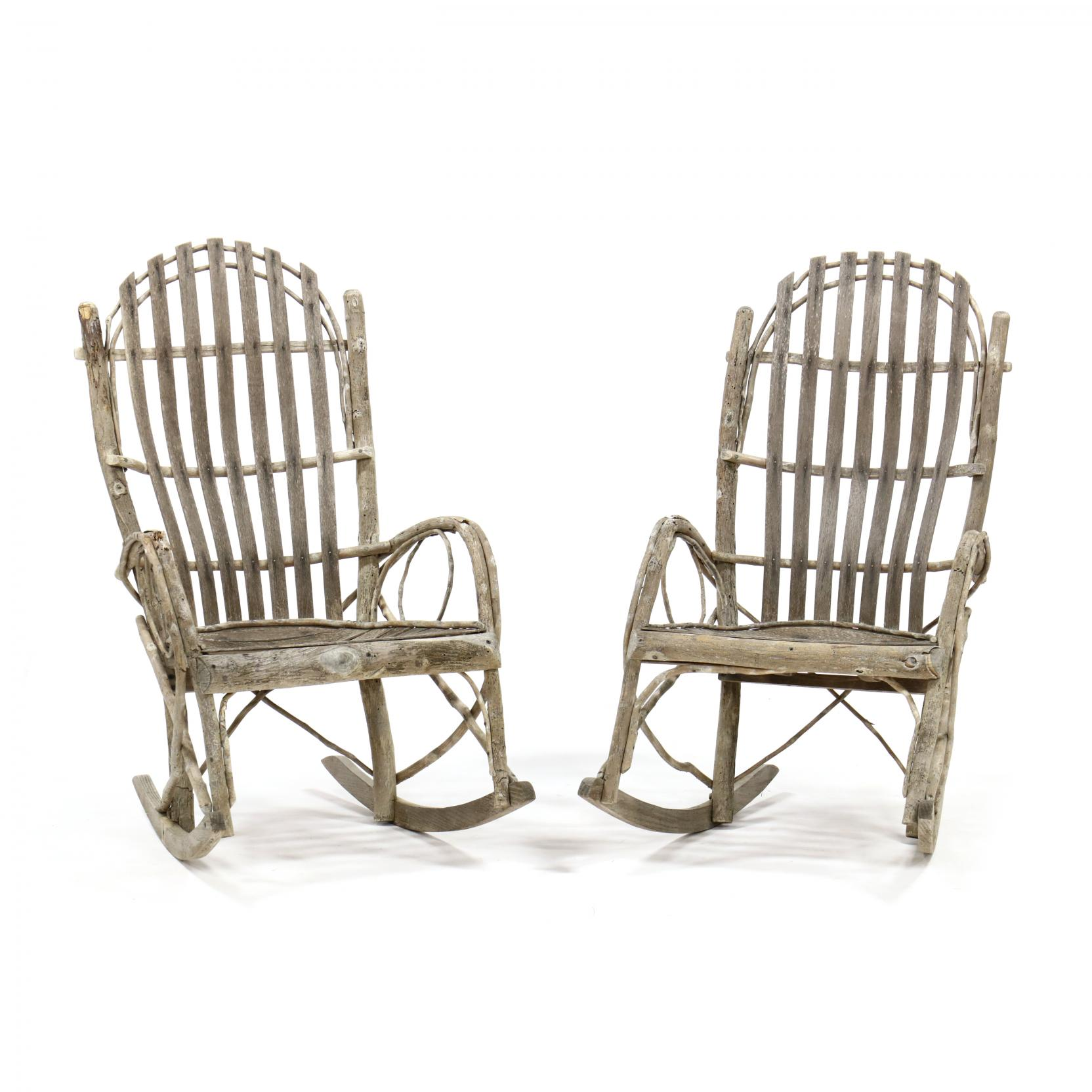 pair-of-vintage-hickory-twig-rocking-chairs