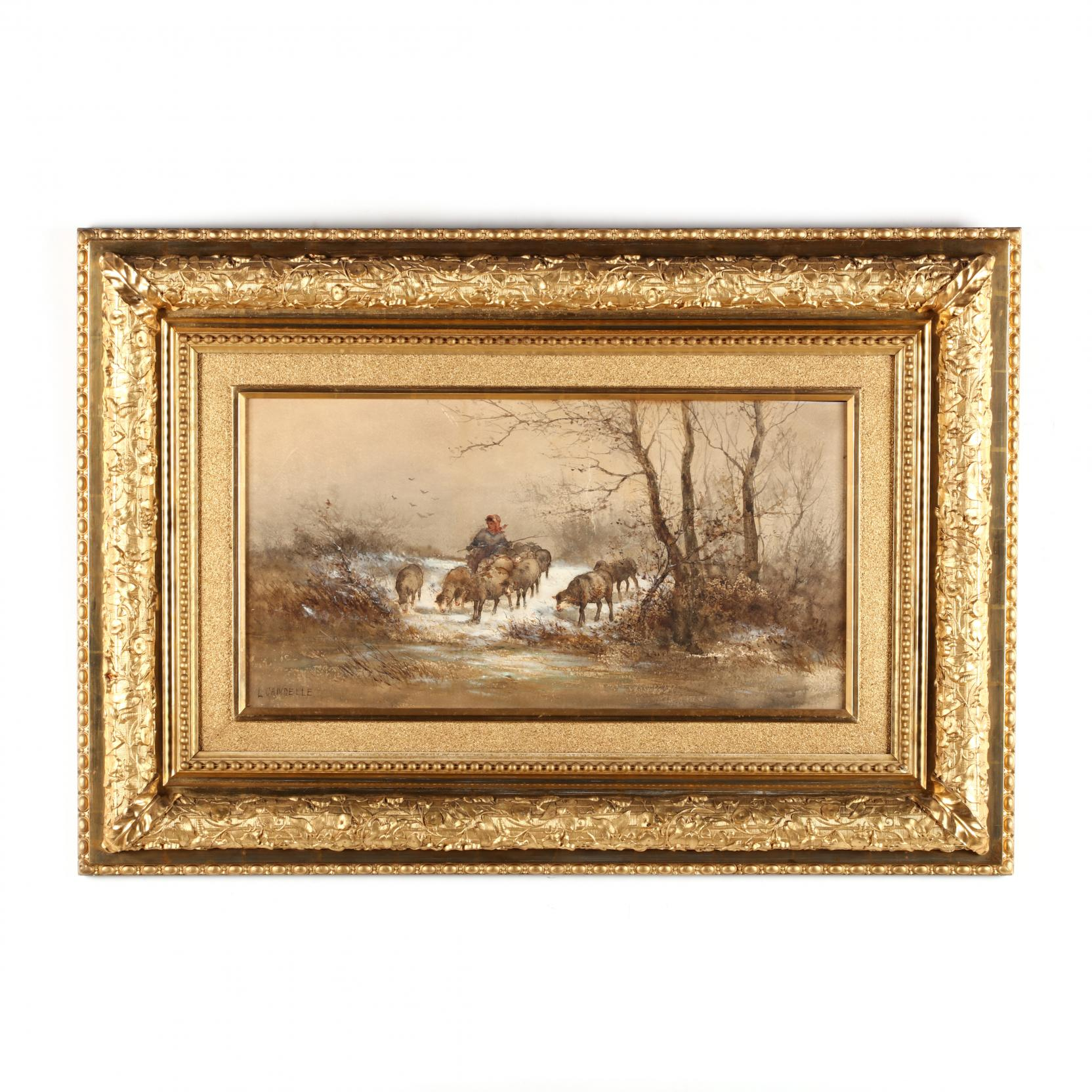 l-candelle-ca-19th-century-tending-the-flock-in-winter