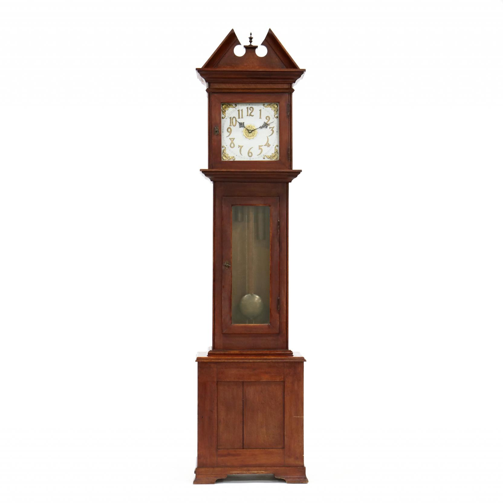 antique-american-tall-case-clock