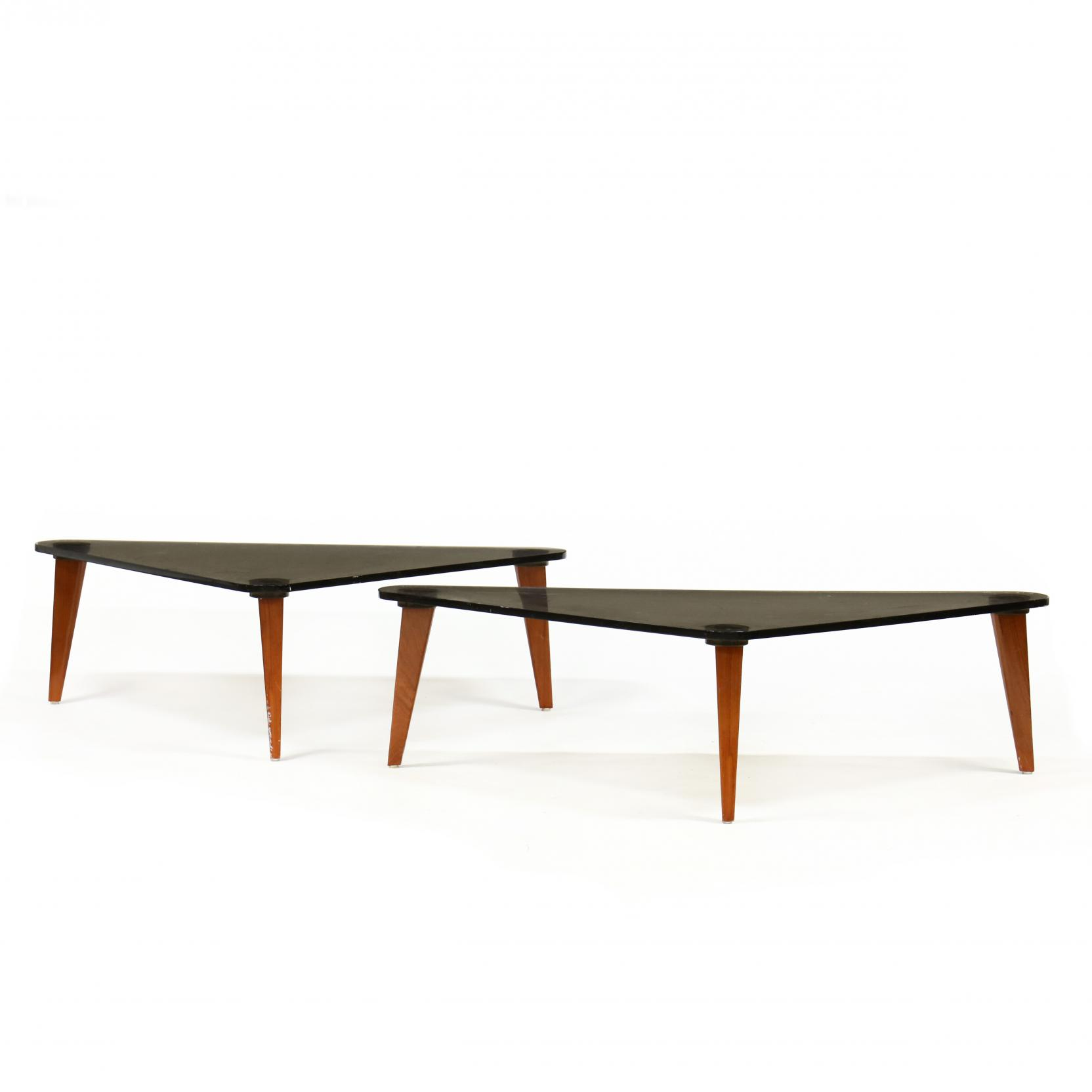pair-of-modern-lucite-and-mahogany-coffee-tables