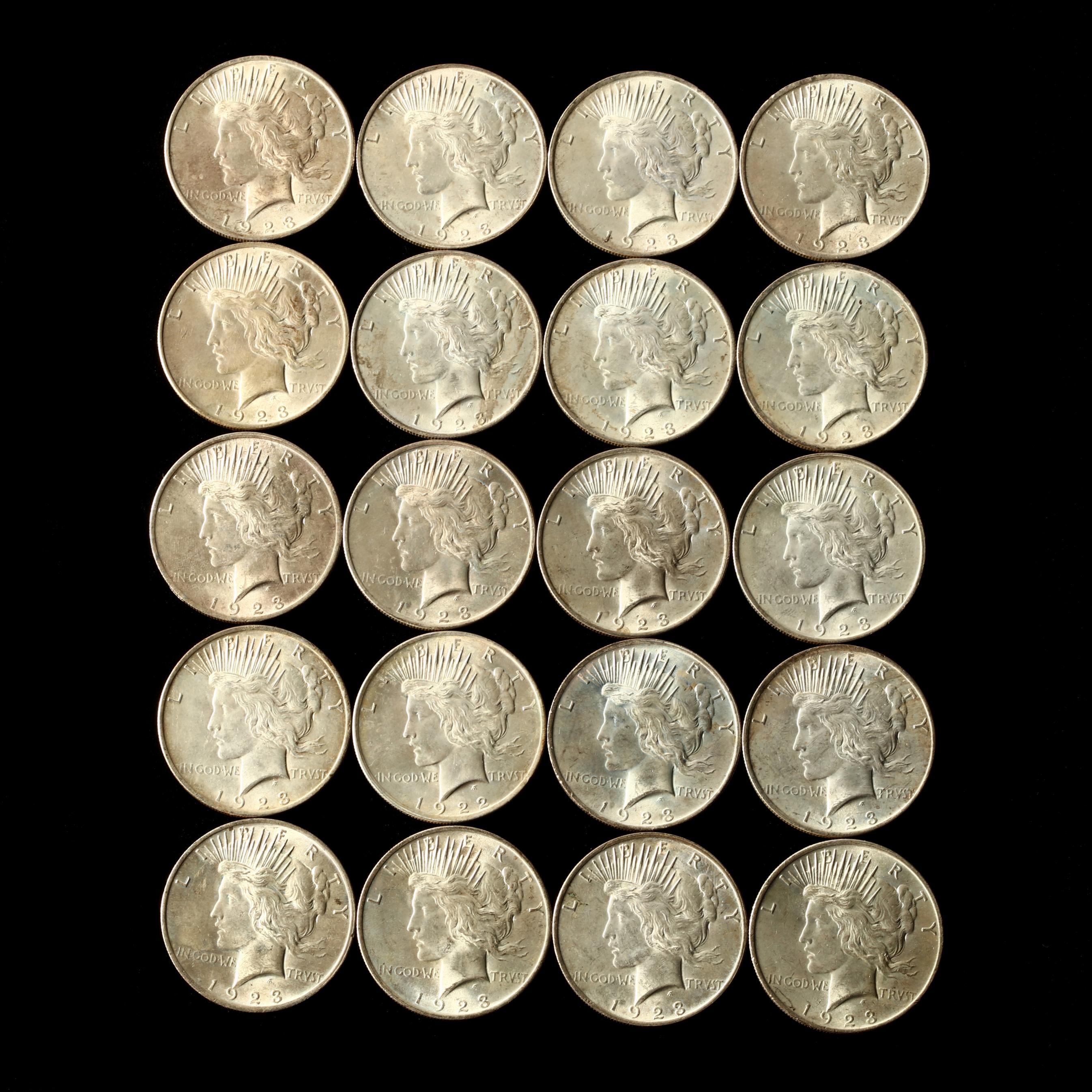 twenty-better-1923-peace-silver-dollars