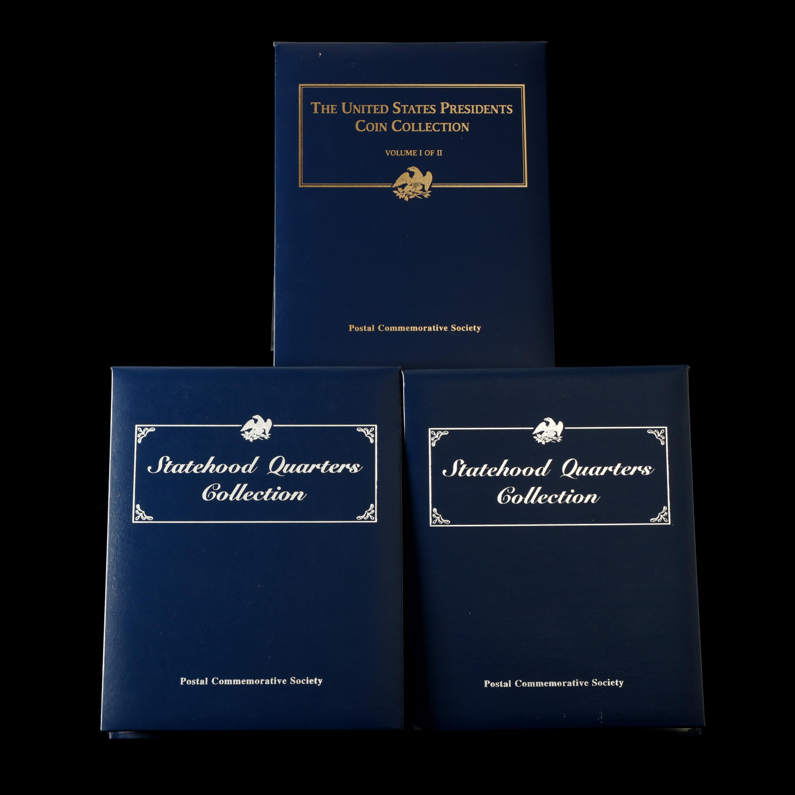 complete-set-of-state-quarters-and-set-of-the-first-nineteen-presidential-dollars