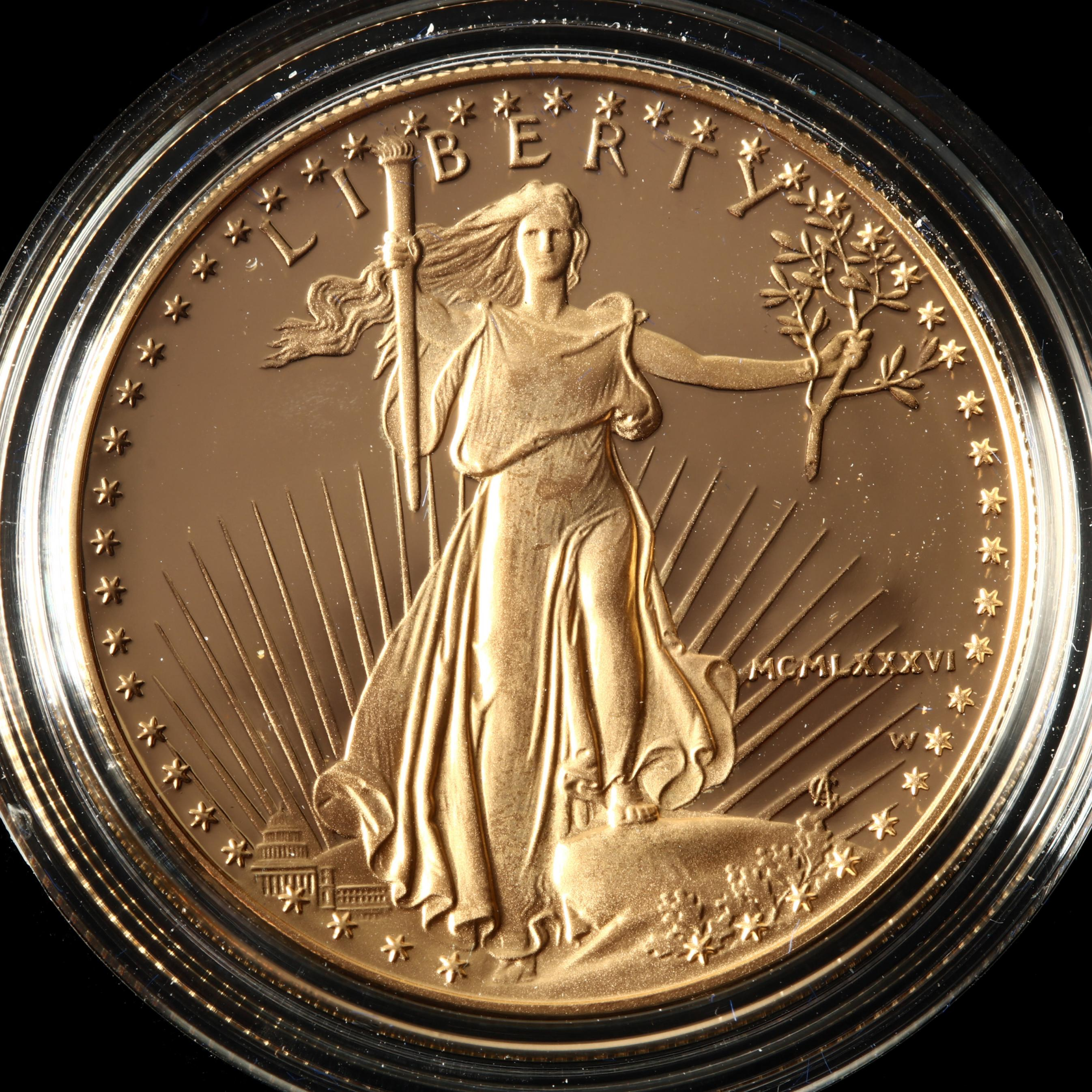 1986-w-50-one-ounce-gold-american-eagle