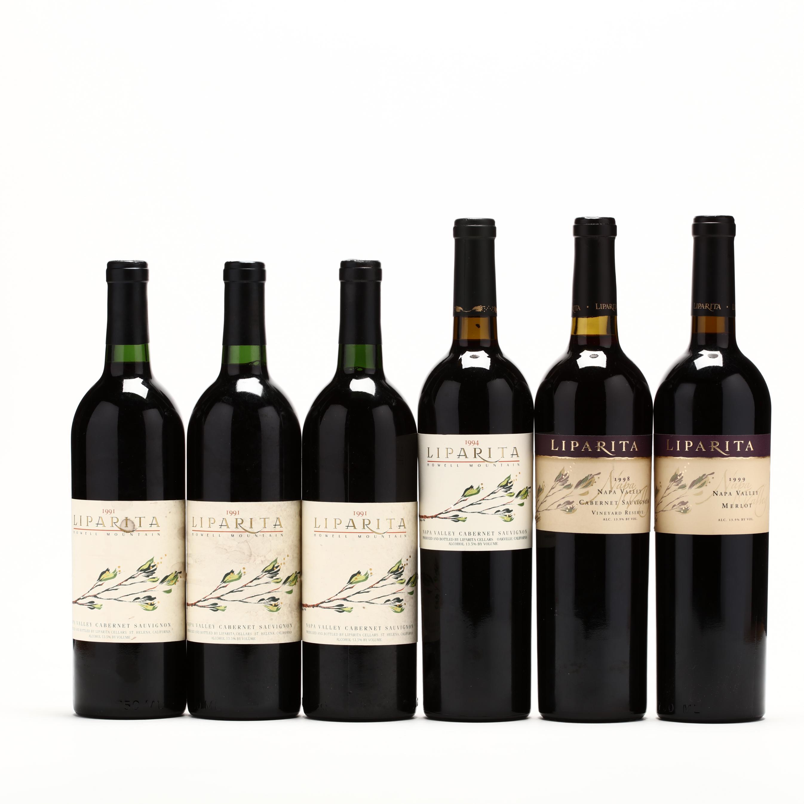 1991-1994-1998-1999-liparita-cellars