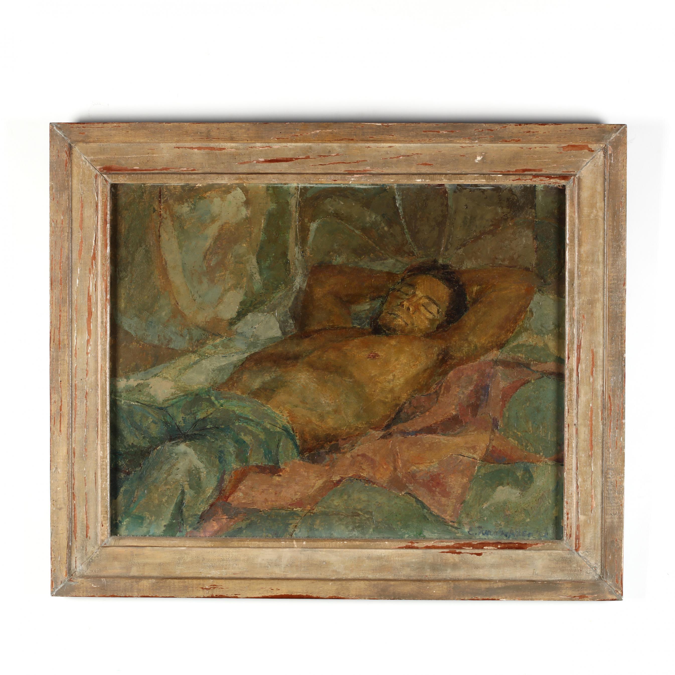 e-turner-allen-american-20th-century-man-sleeping