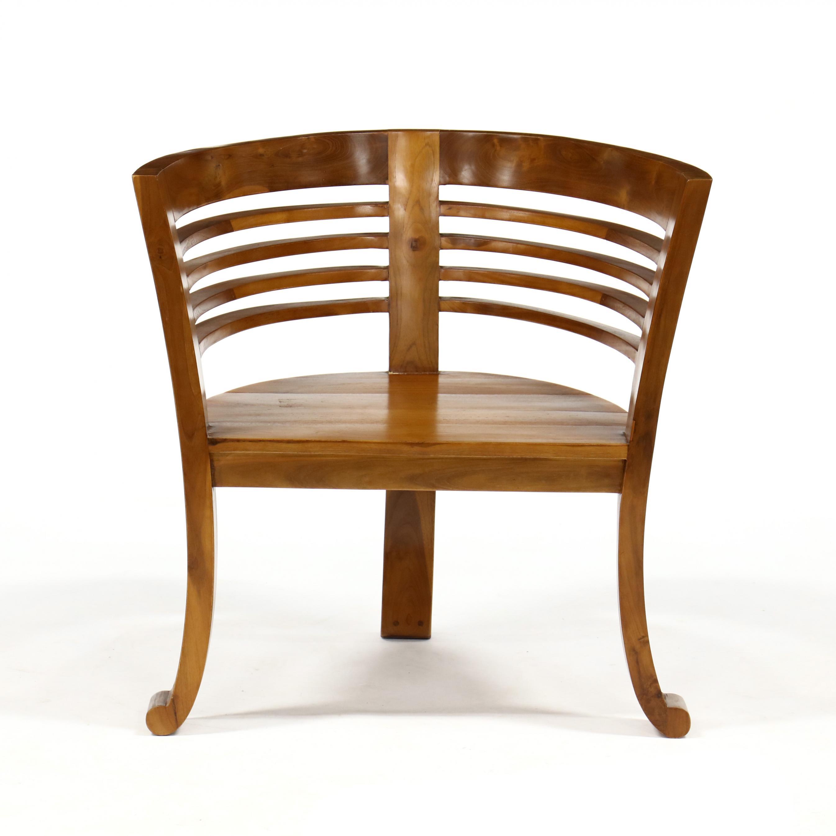 contemporary-teak-club-chair