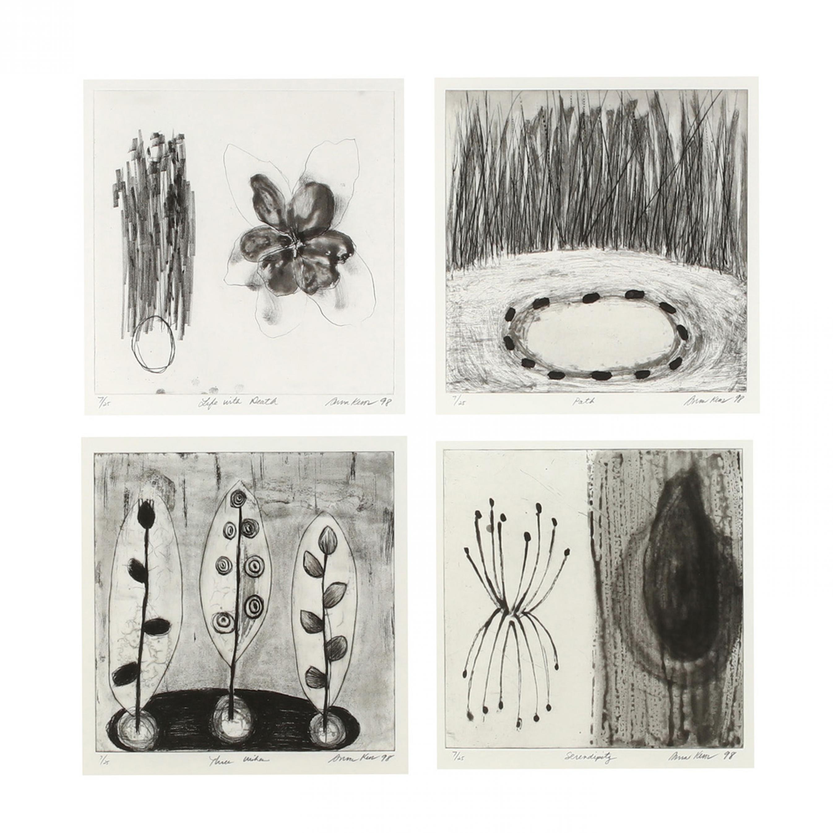 anna-kunz-american-20th-21st-century-group-of-four-etchings