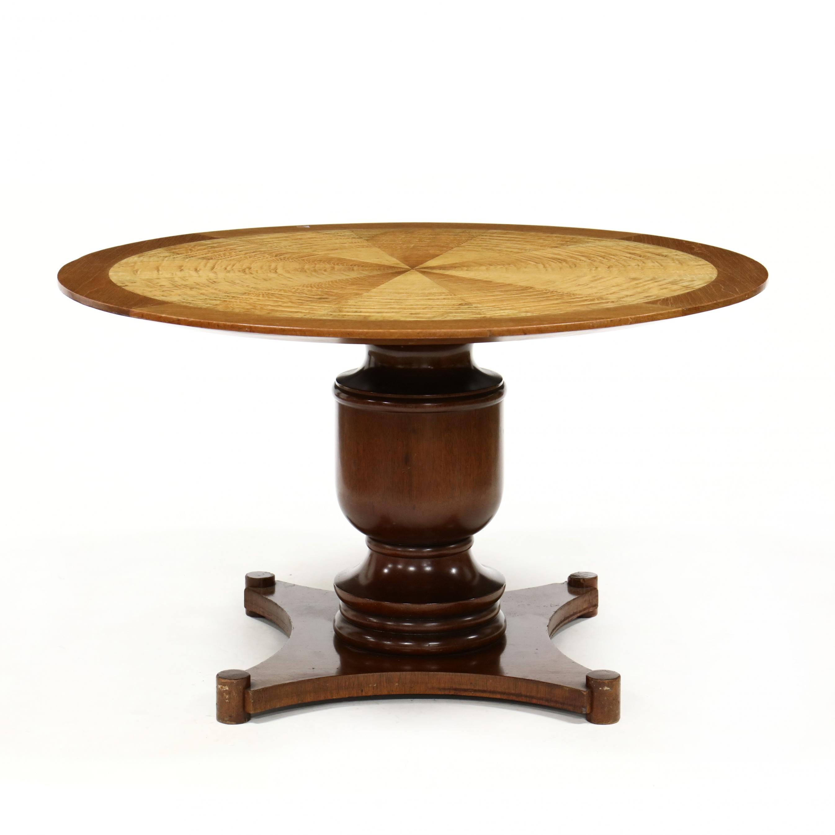 neoclassical-style-figured-wood-center-table