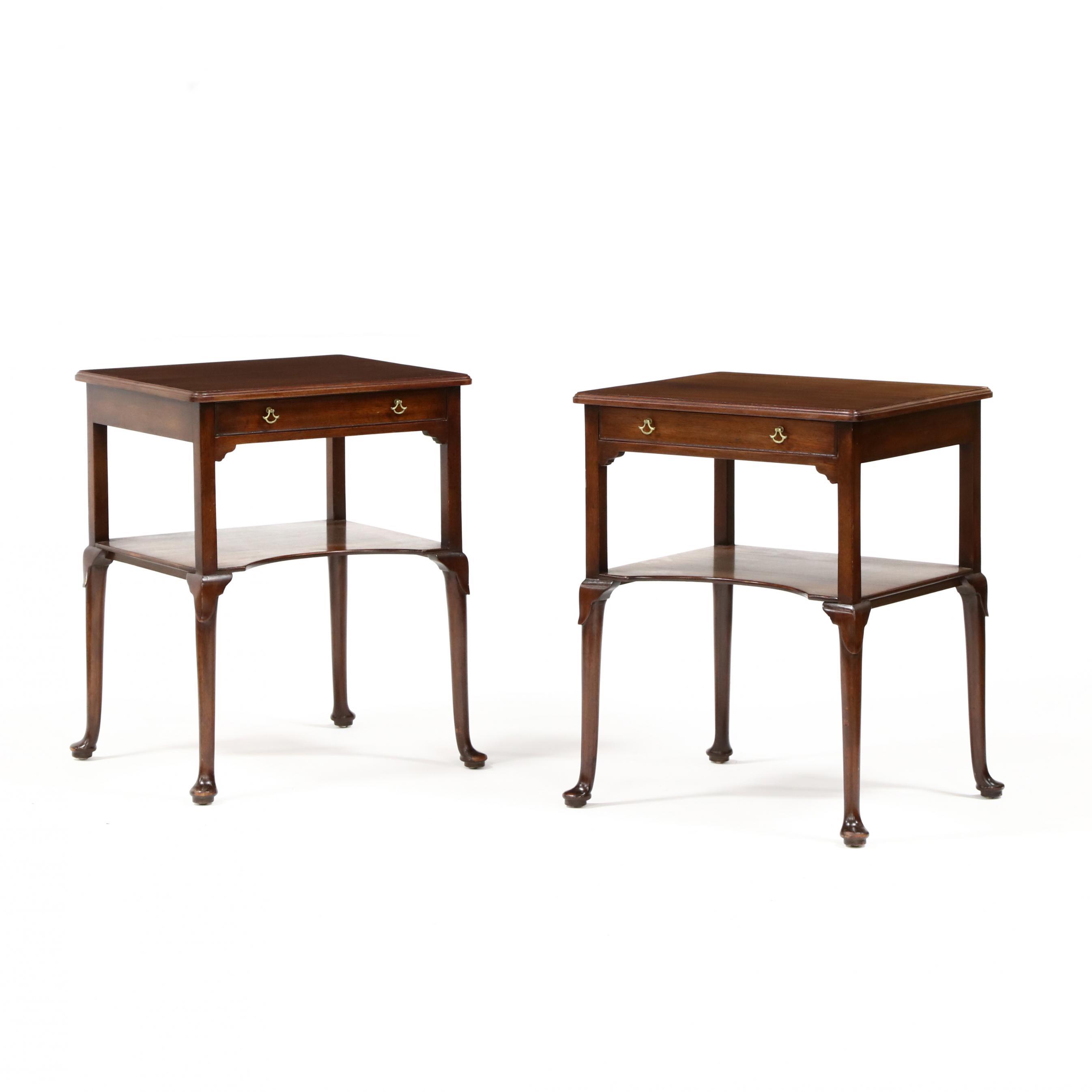 edward-garratt-pair-of-georgian-style-mahogany-one-drawer-stands
