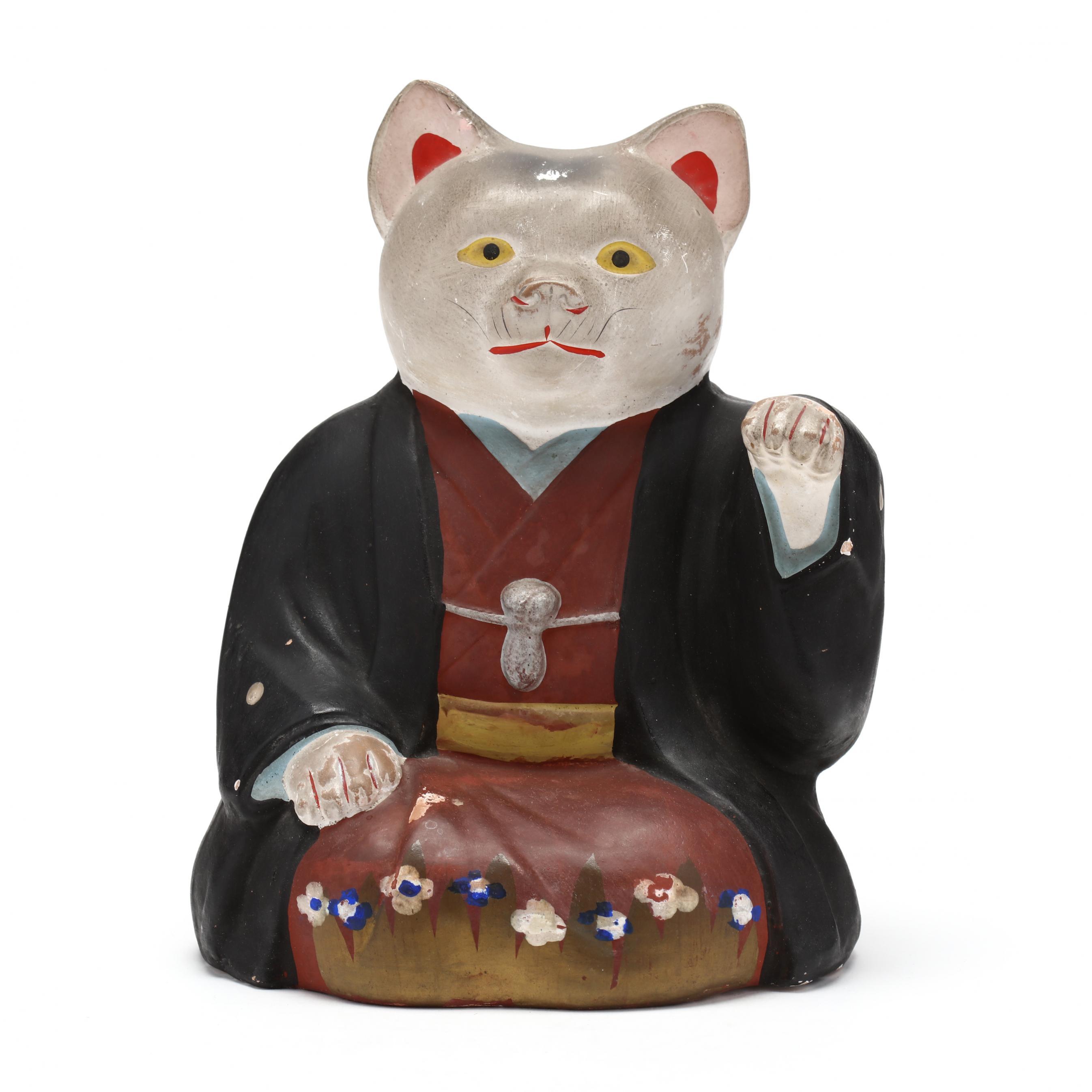 maneki-neko-chalkware-cat