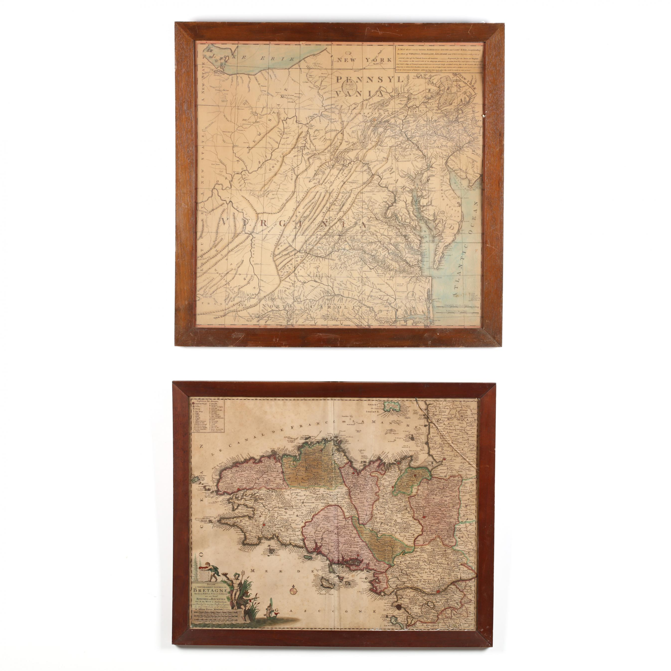 two-antique-regional-maps