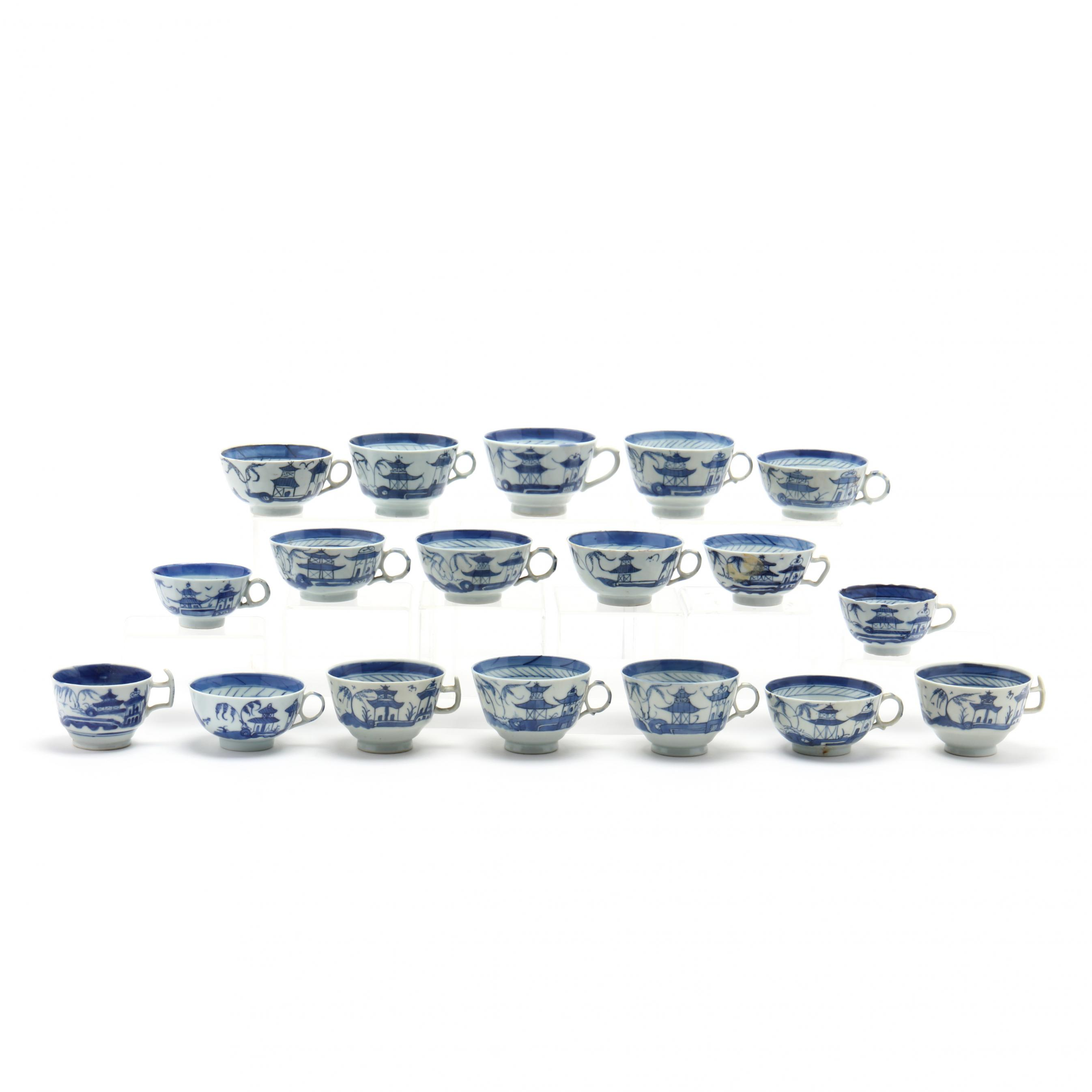 a-group-of-18-chinese-blue-and-white-canton-style-tea-cups