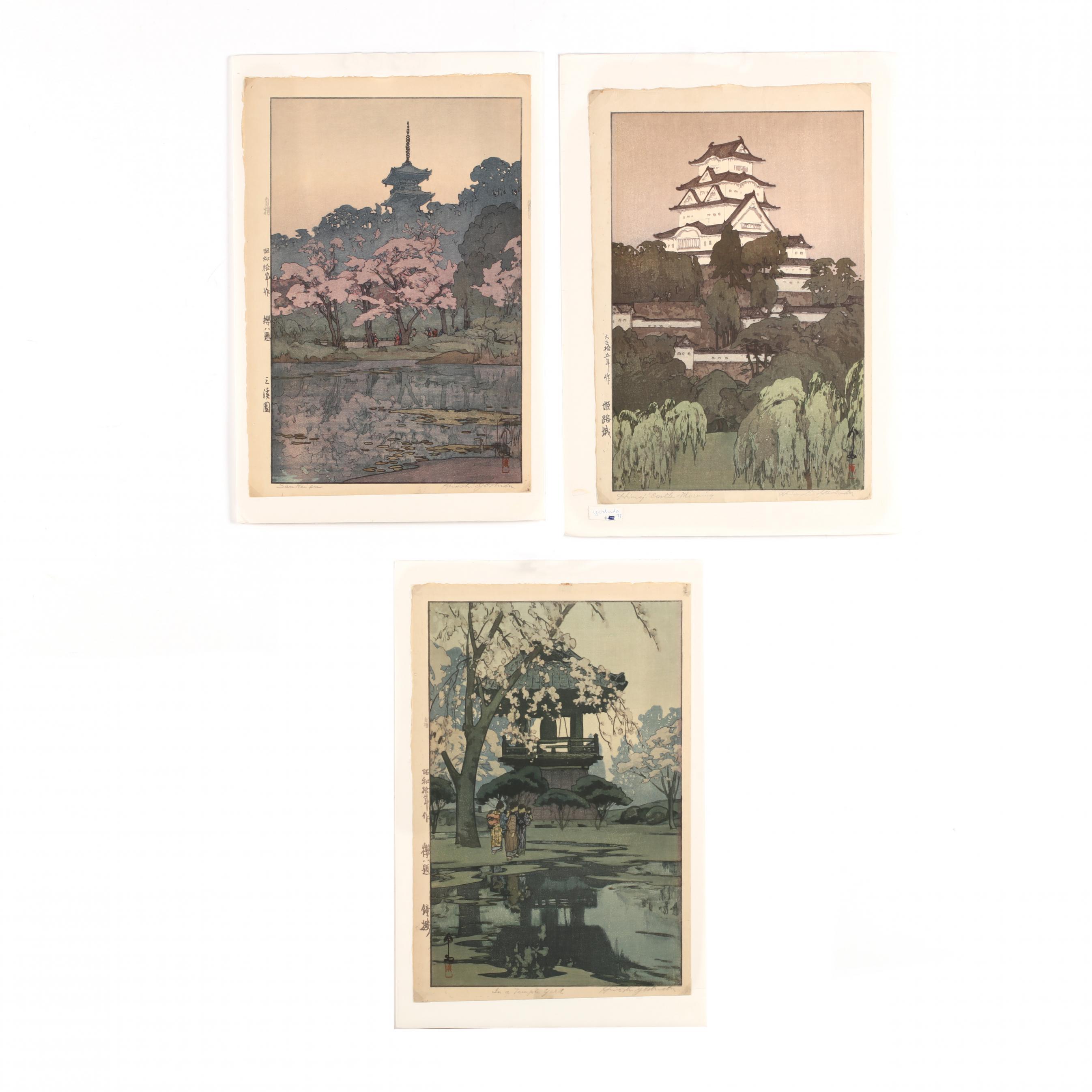 hiroshi-yoshida-japanese-1876-1950-three-woodblock-prints