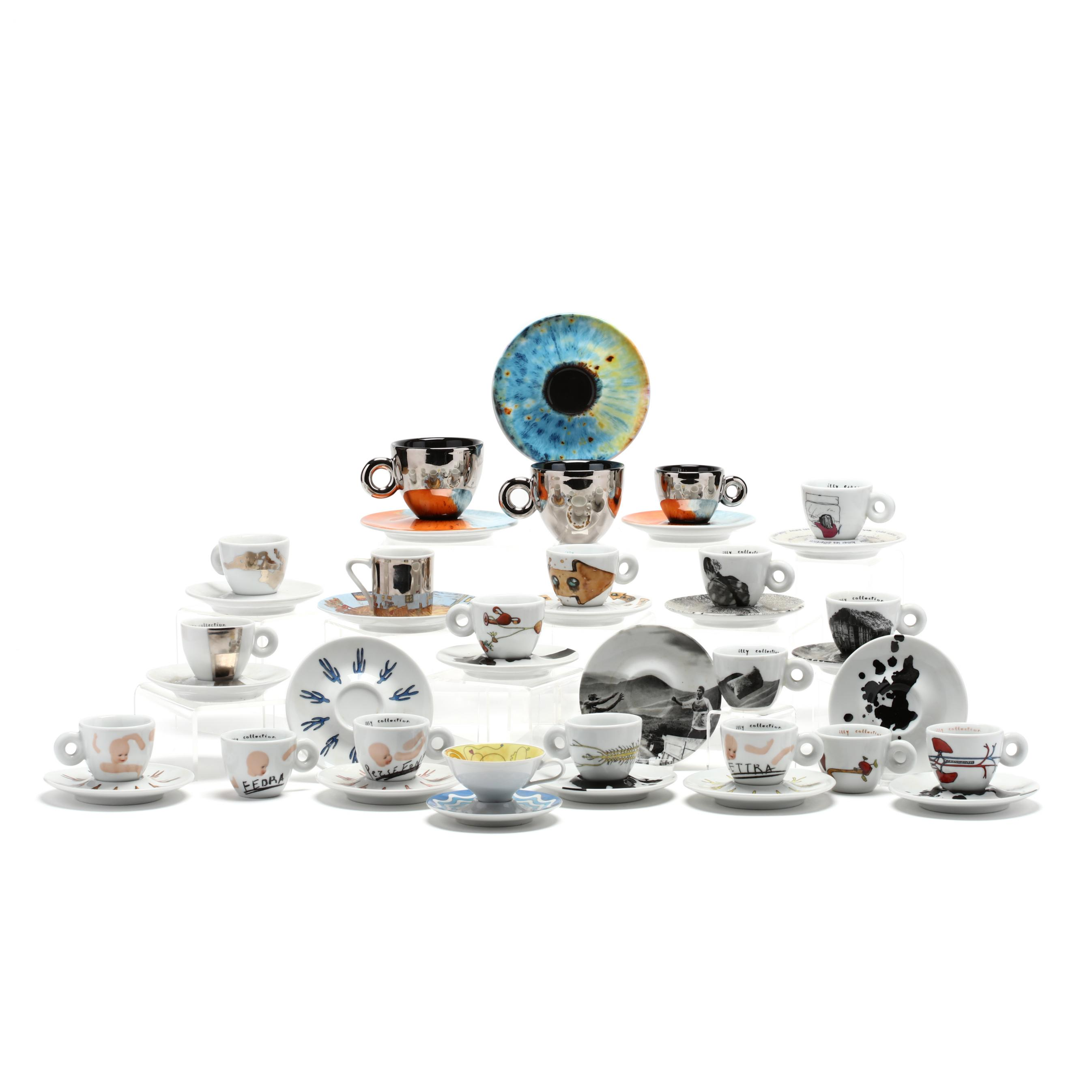an-artistic-collection-of-20-espresso-cups-and-saucers