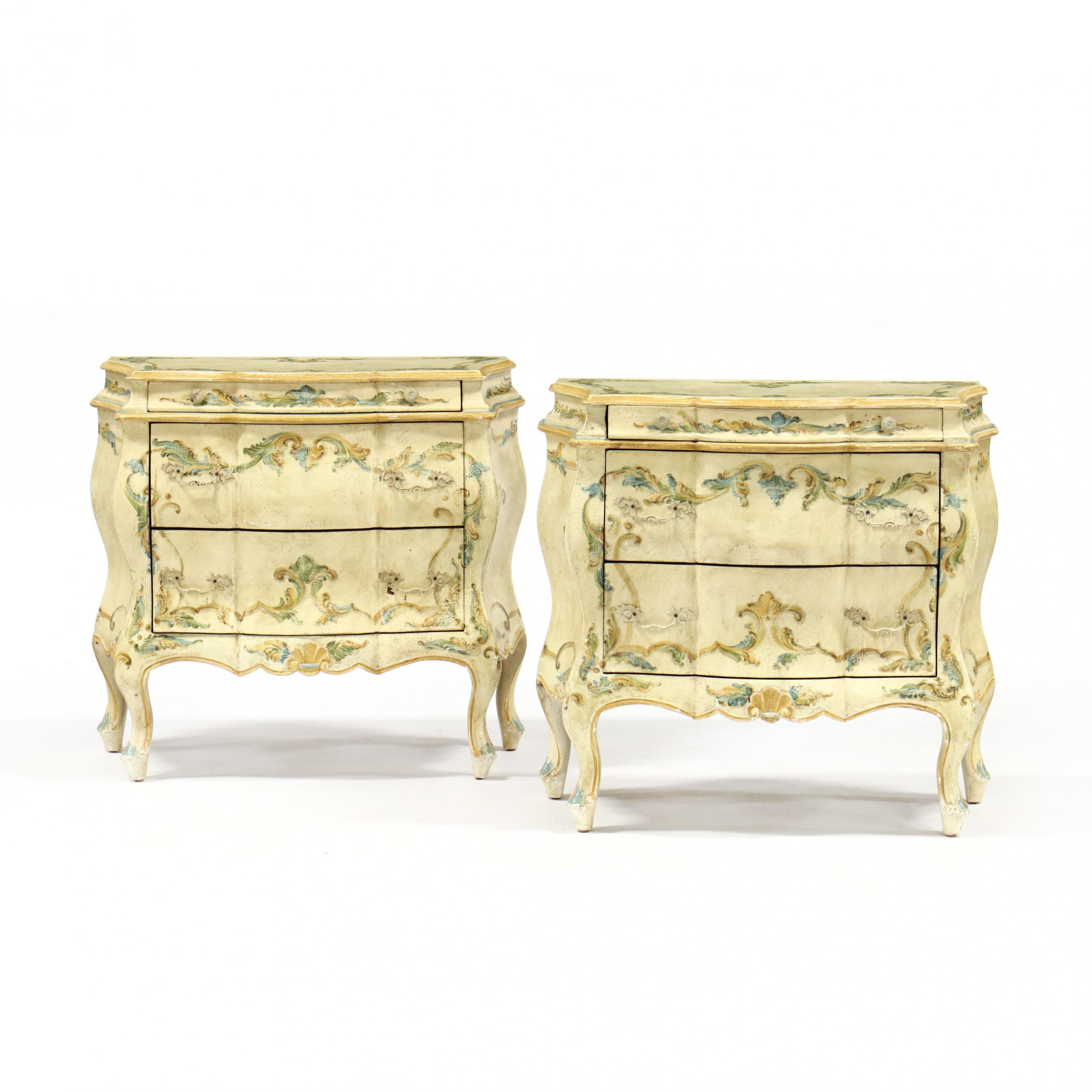 pair-of-diminutive-italian-bombe-painted-chests