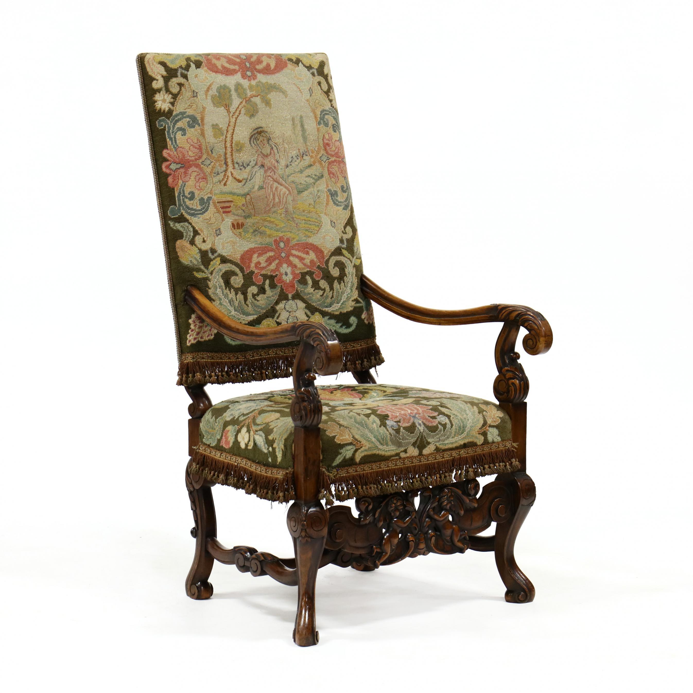 spanish-baroque-style-hall-chair