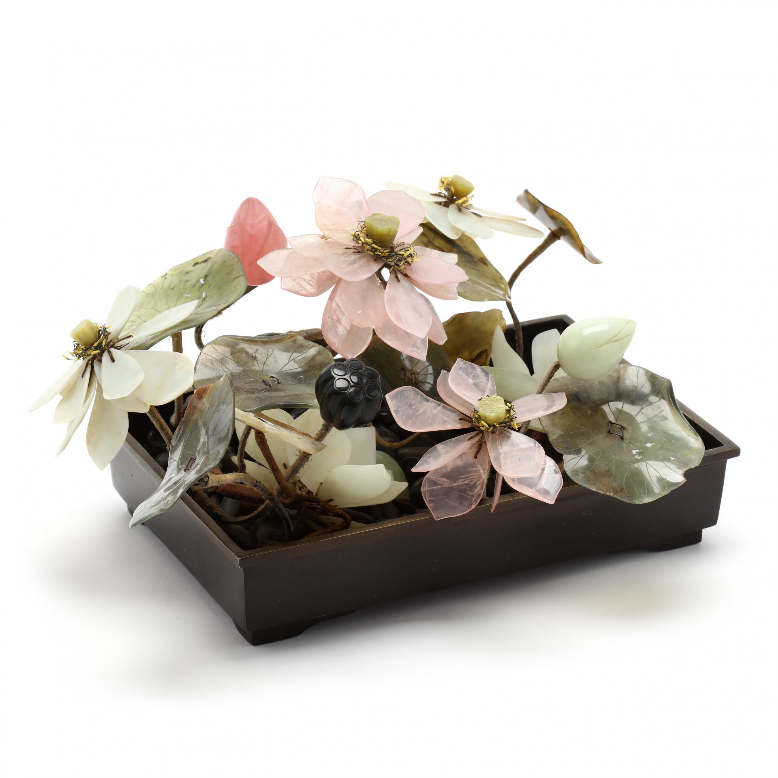 chinese-hardstone-flower-arrangement