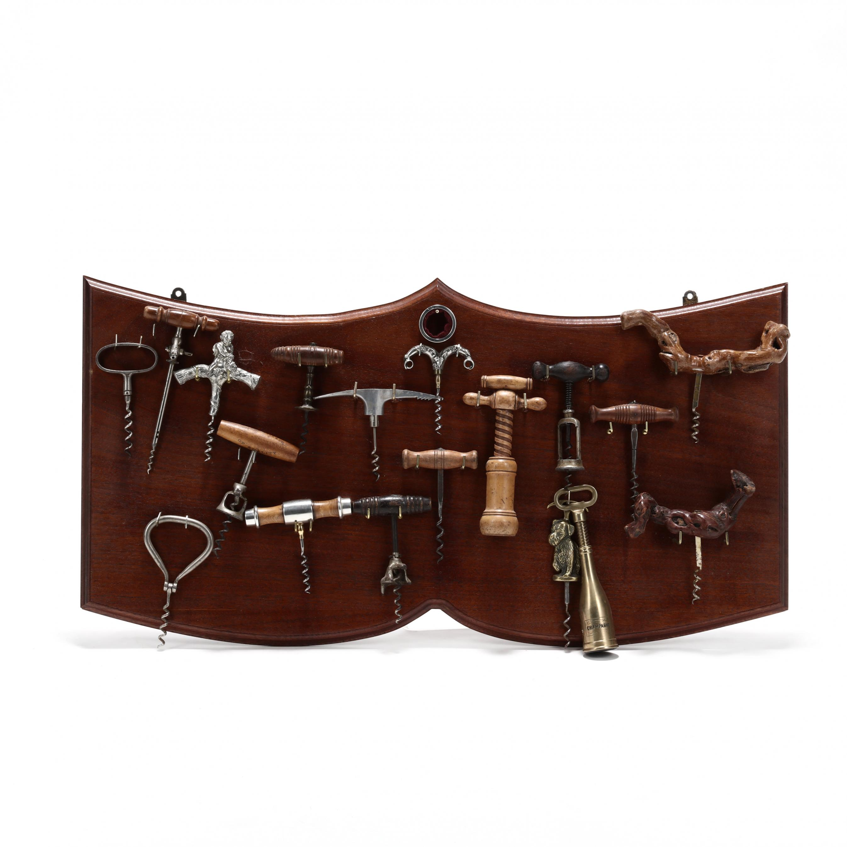 vintage-corkscrew-collection-with-board