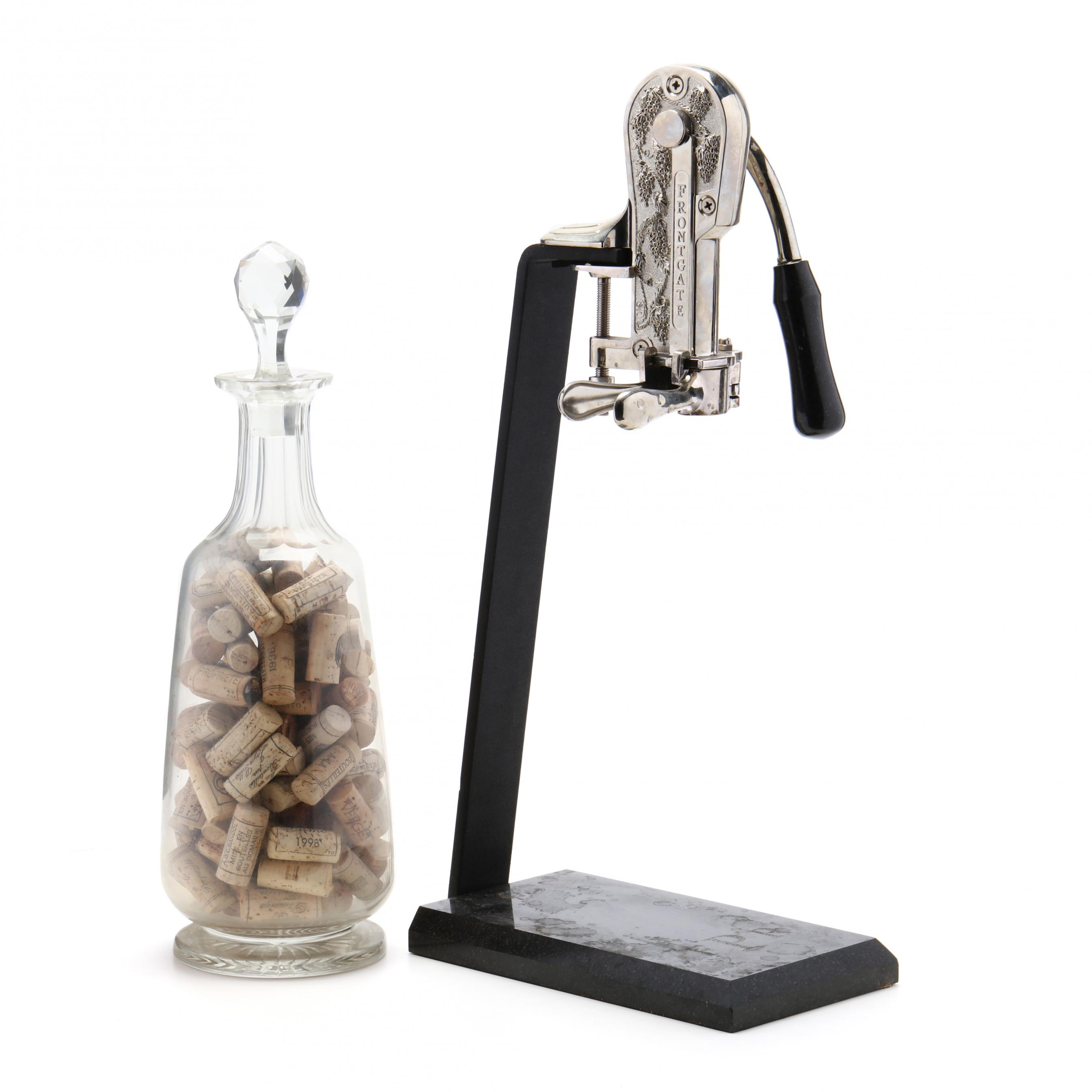 wine-bottle-opener-and-tall-decanter