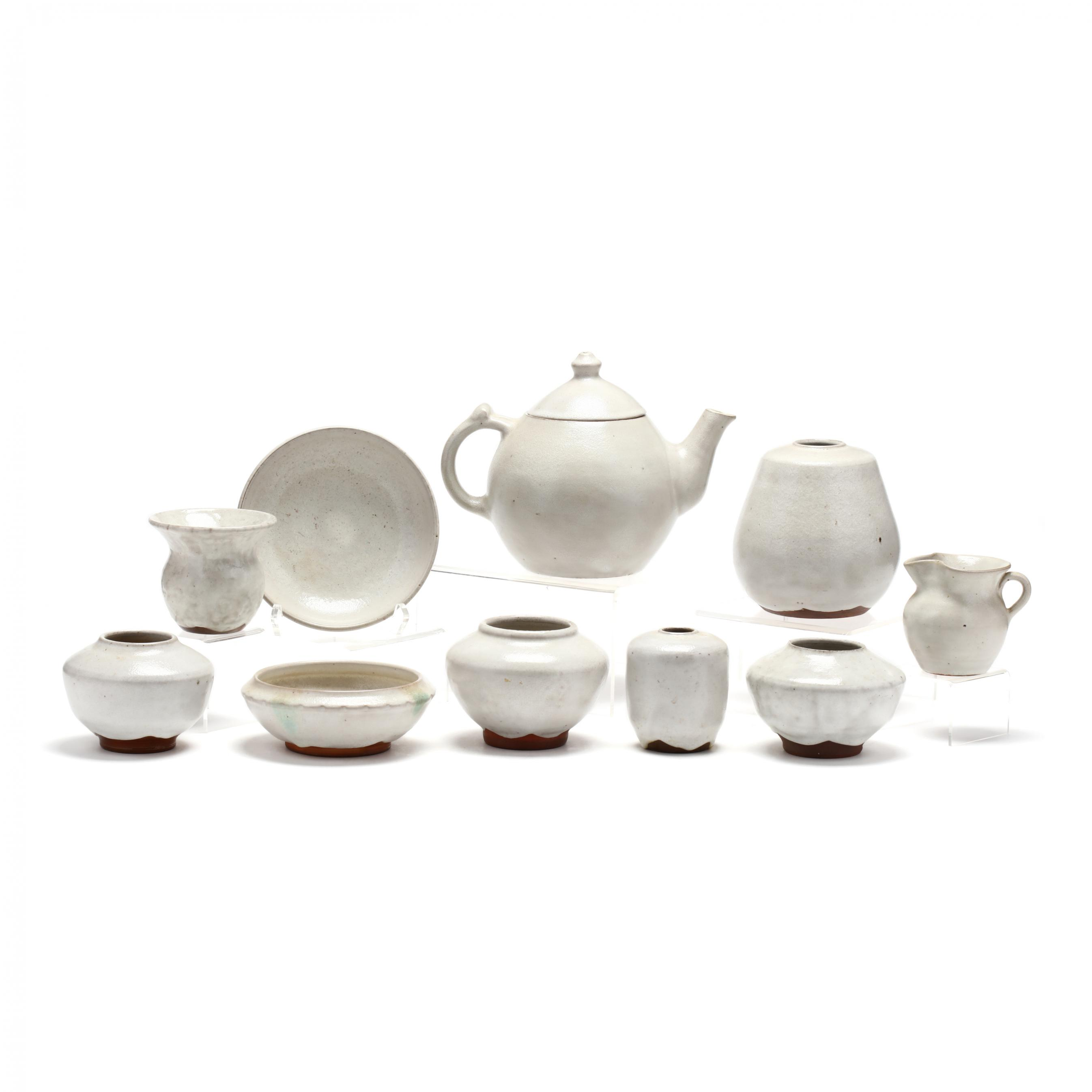 a-group-of-ben-owen-master-potter-chinese-white-pottery