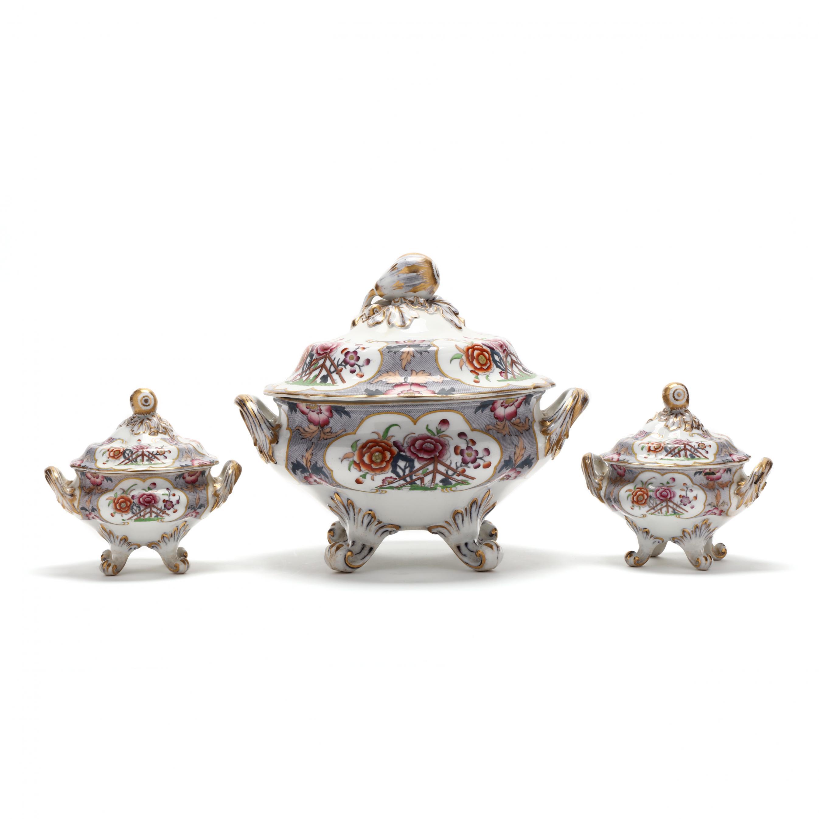 three-antique-transfer-decorated-porcelain-servers