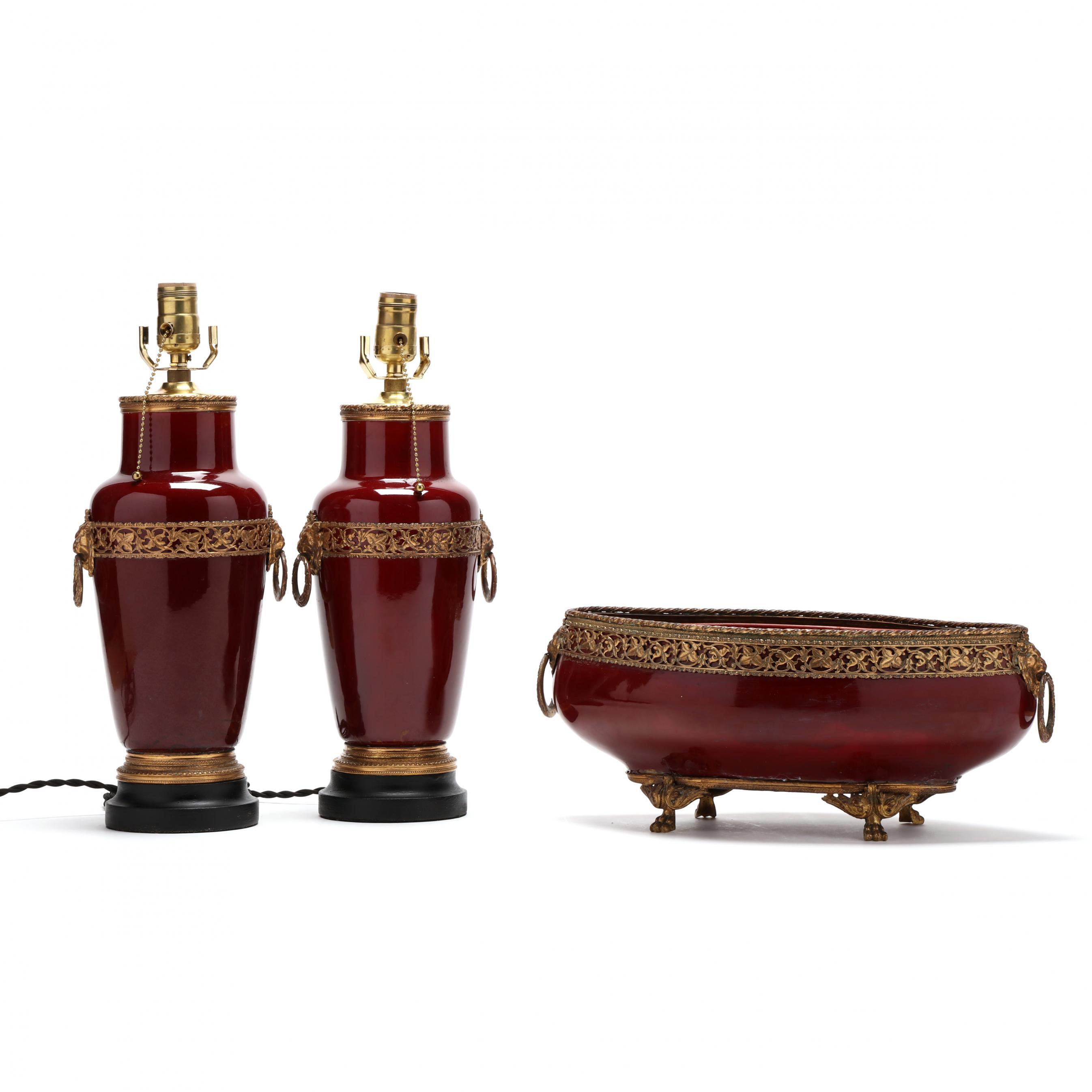 french-ormolu-mounted-oxblood-porcelain-lamp-garniture