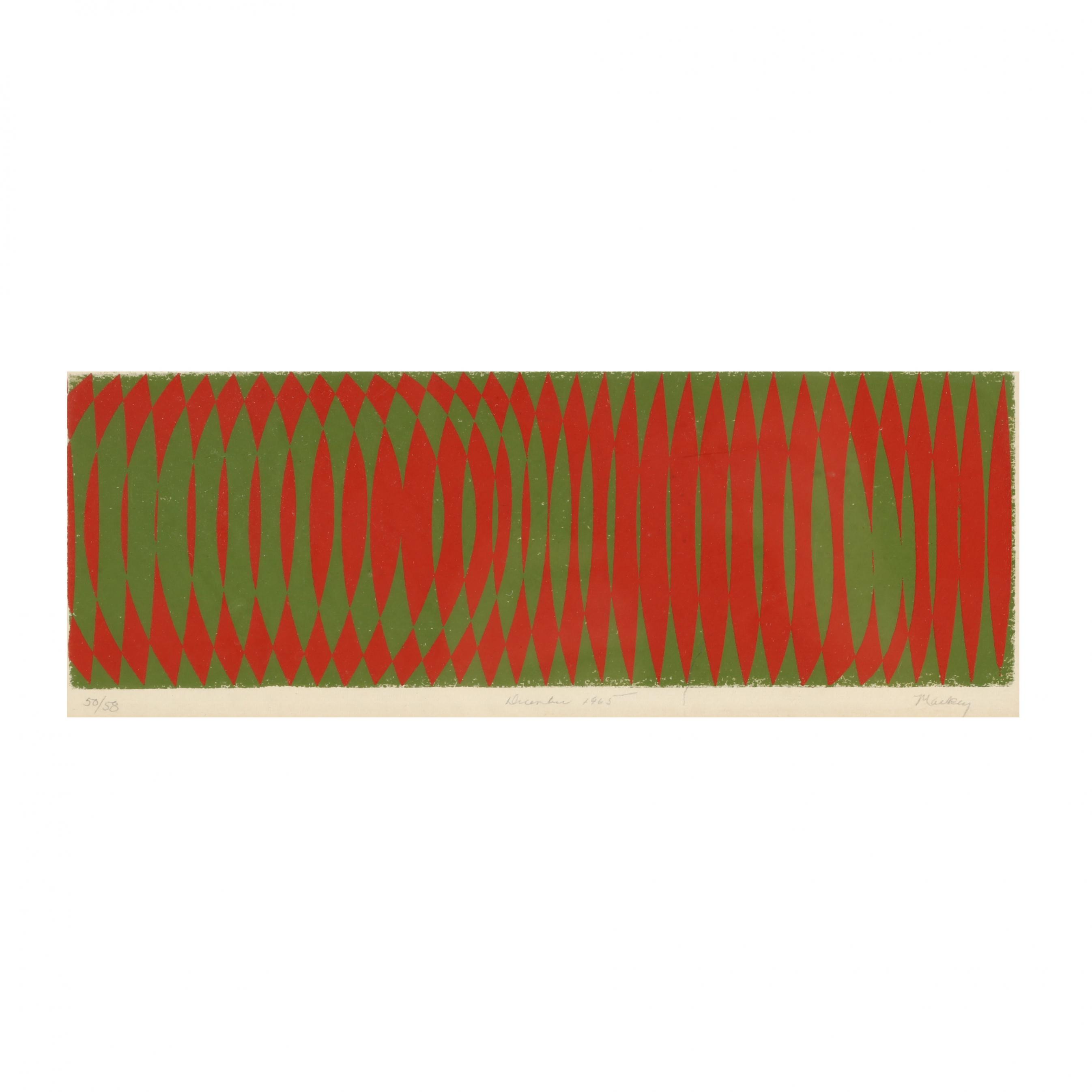 mcdonald-mackey-bane-nc-born-1928-framed-silkscreen-christmas-card-1965