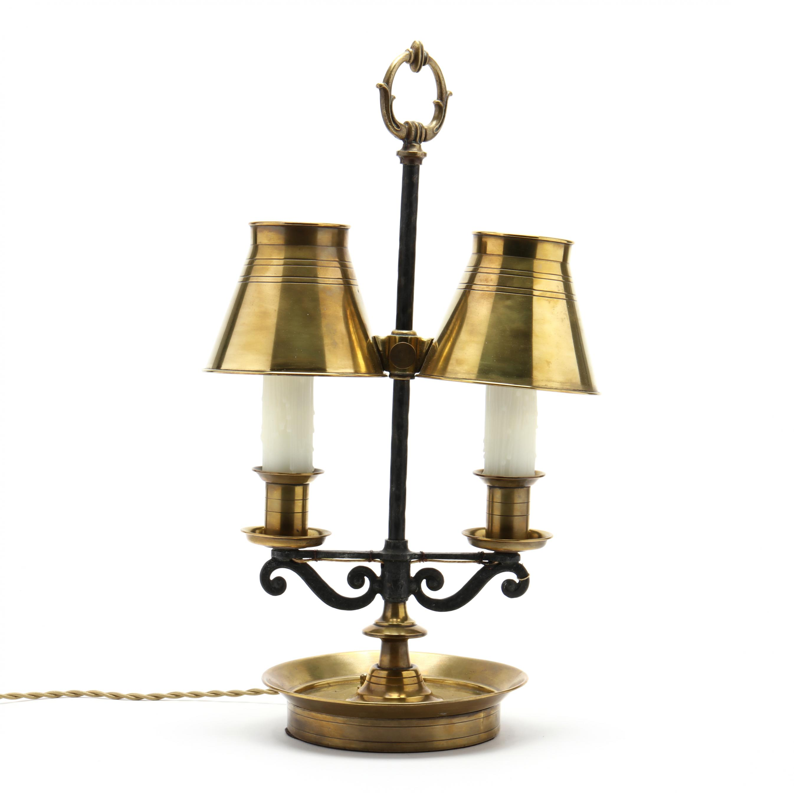 vintage-brass-and-iron-bouillotte-lamp