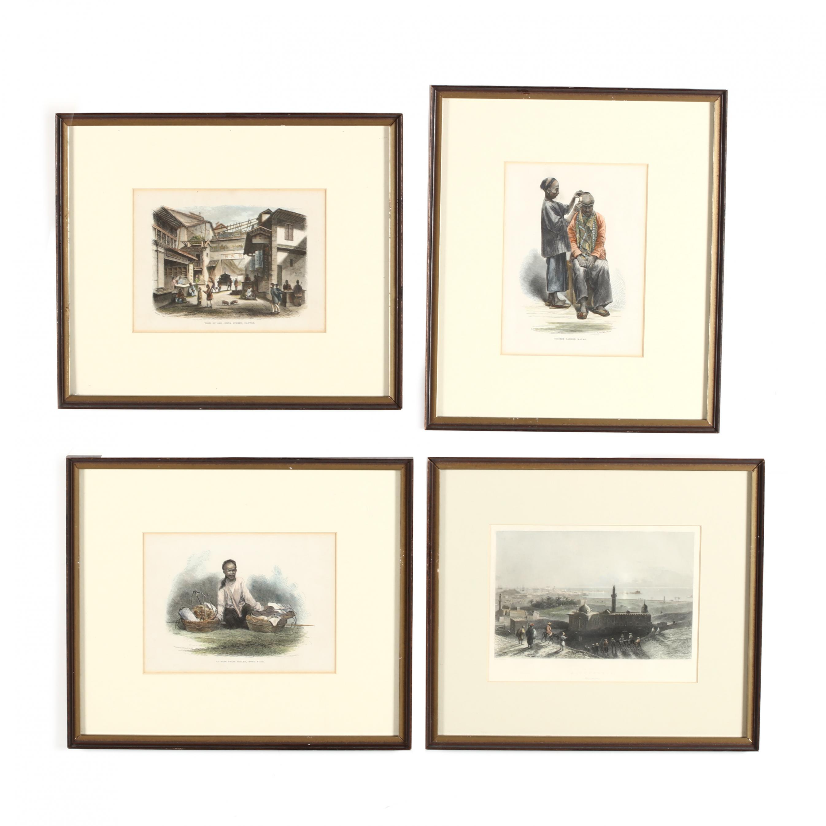 four-antique-wood-engravings-of-china-and-egypt