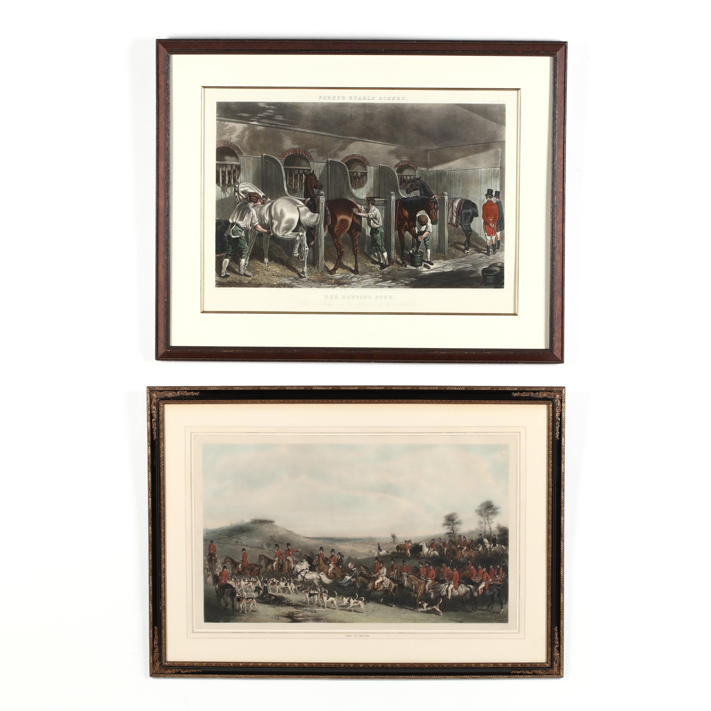 two-antique-english-equestrian-prints