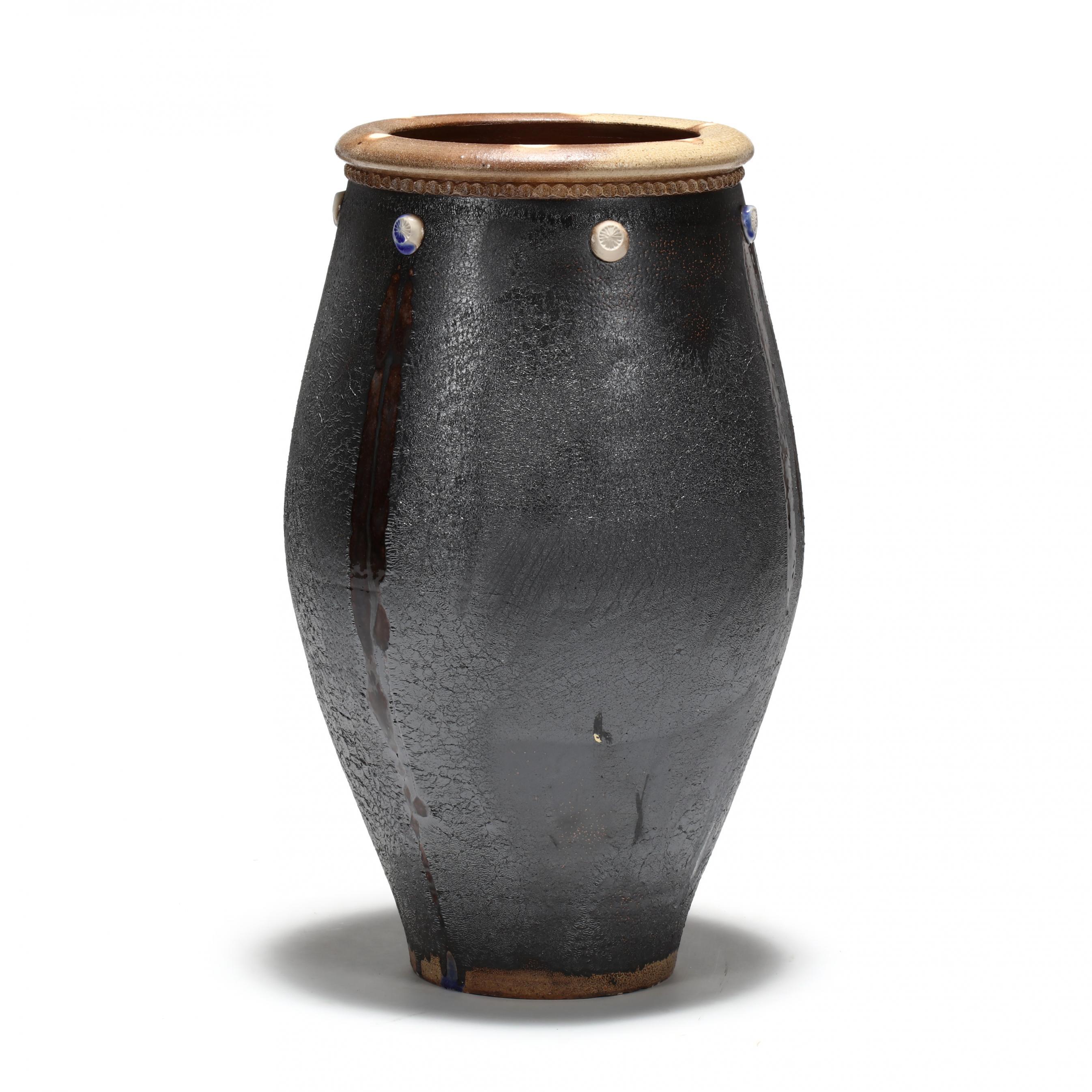 nc-pottery-tall-stoneware-urn-mark-hewitt-pottery