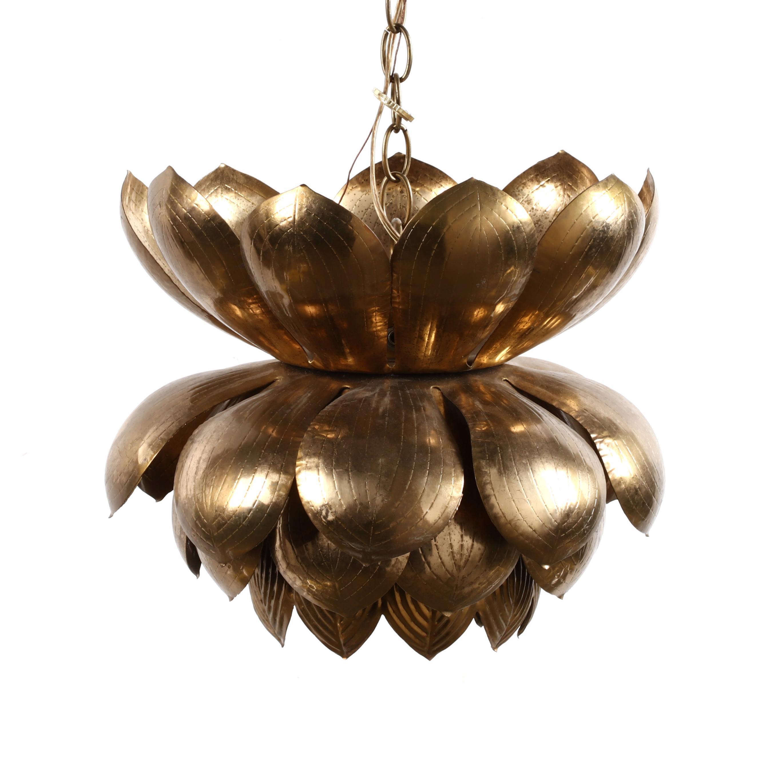 att-feldman-vintage-brass-lotus-hanging-light