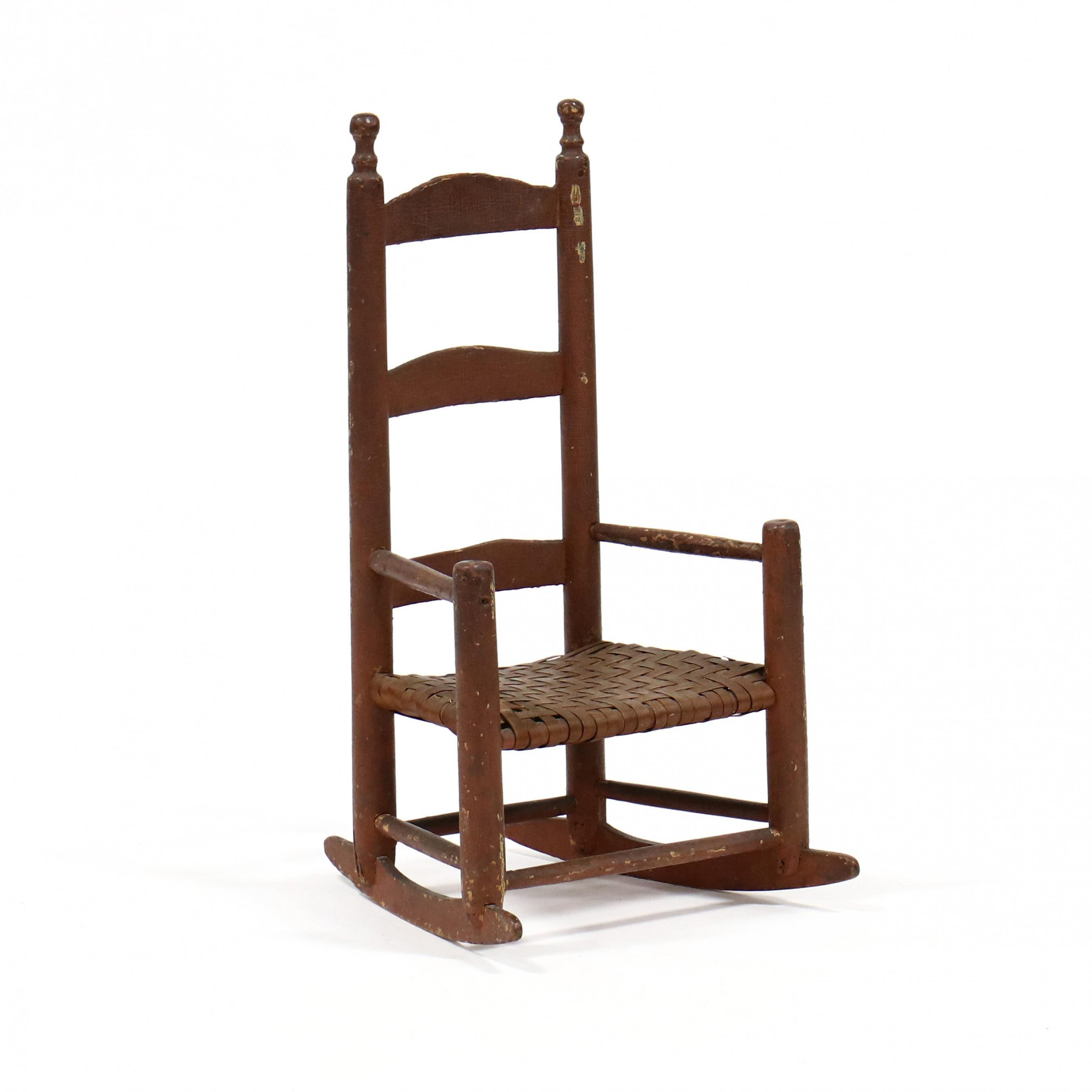 american-folky-painted-child-s-rocking-chair