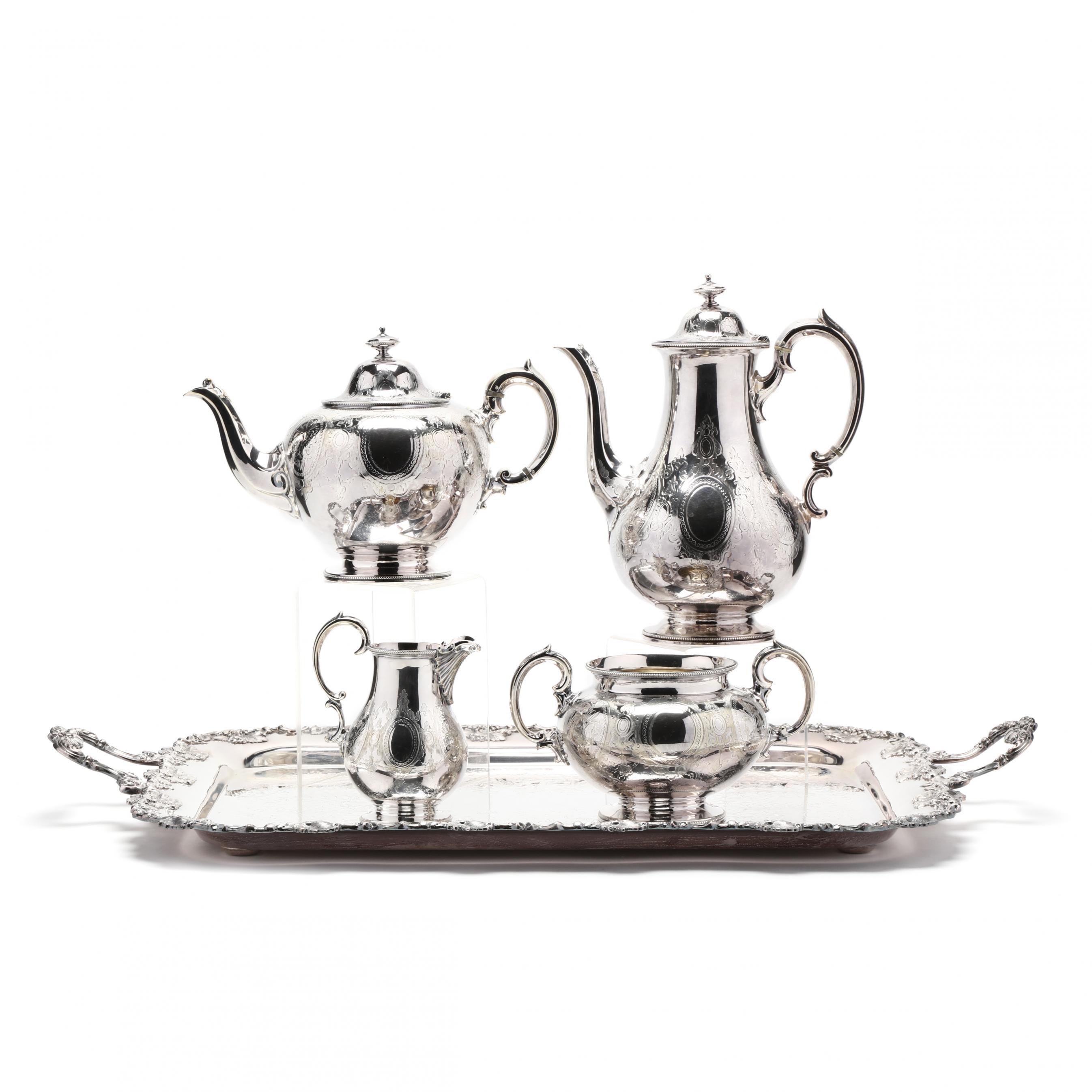 victorian-silverplate-tea-coffee-service