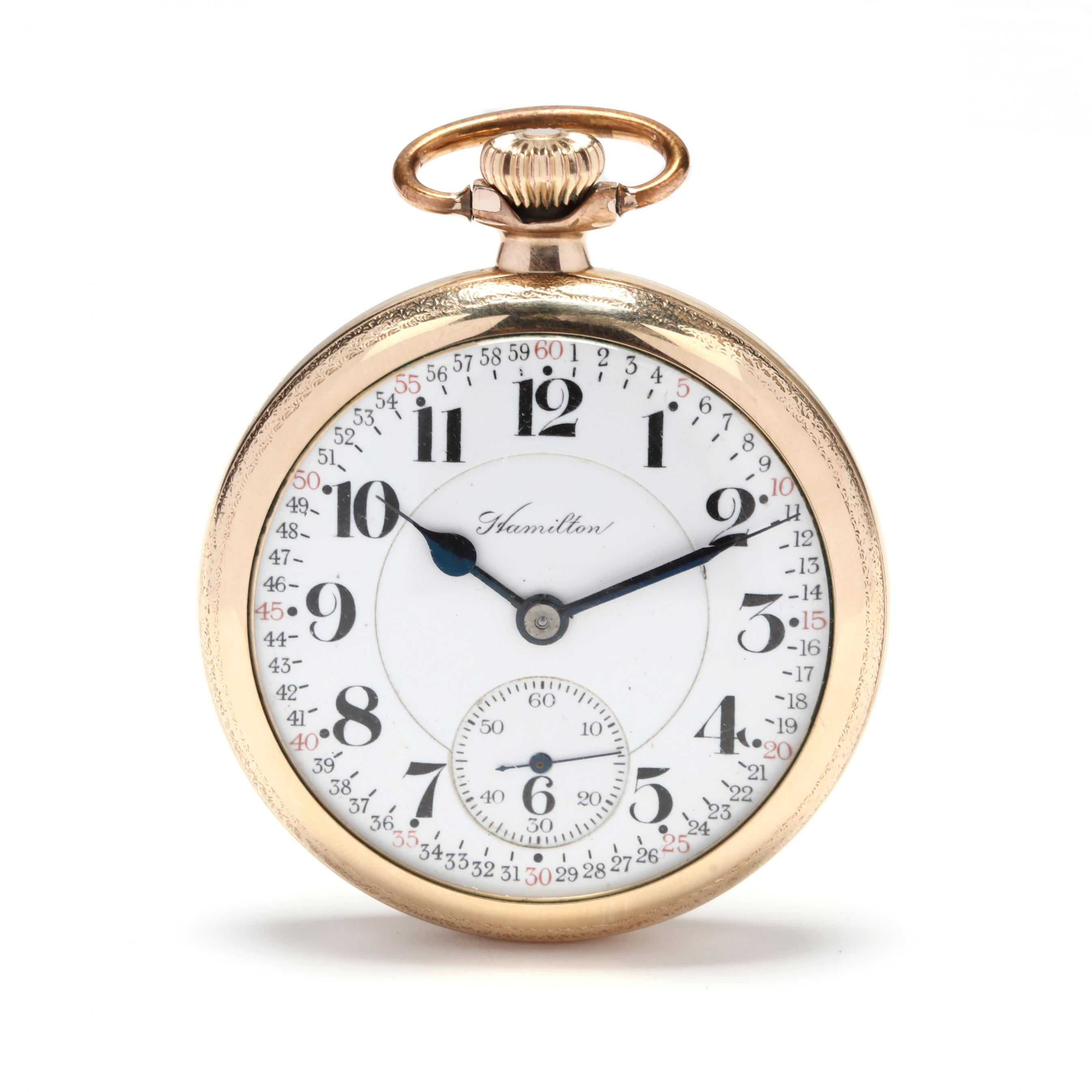 antique-gold-filled-open-face-railroad-grade-992-pocket-watch-hamilton