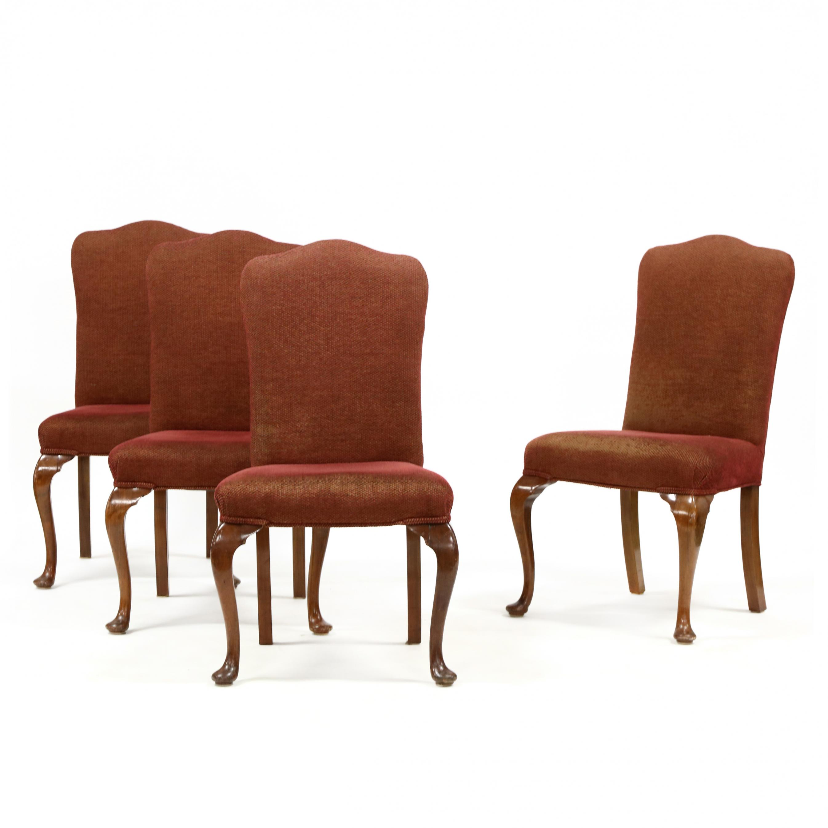 set-of-four-queen-anne-style-upholstered-cherry-side-chairs