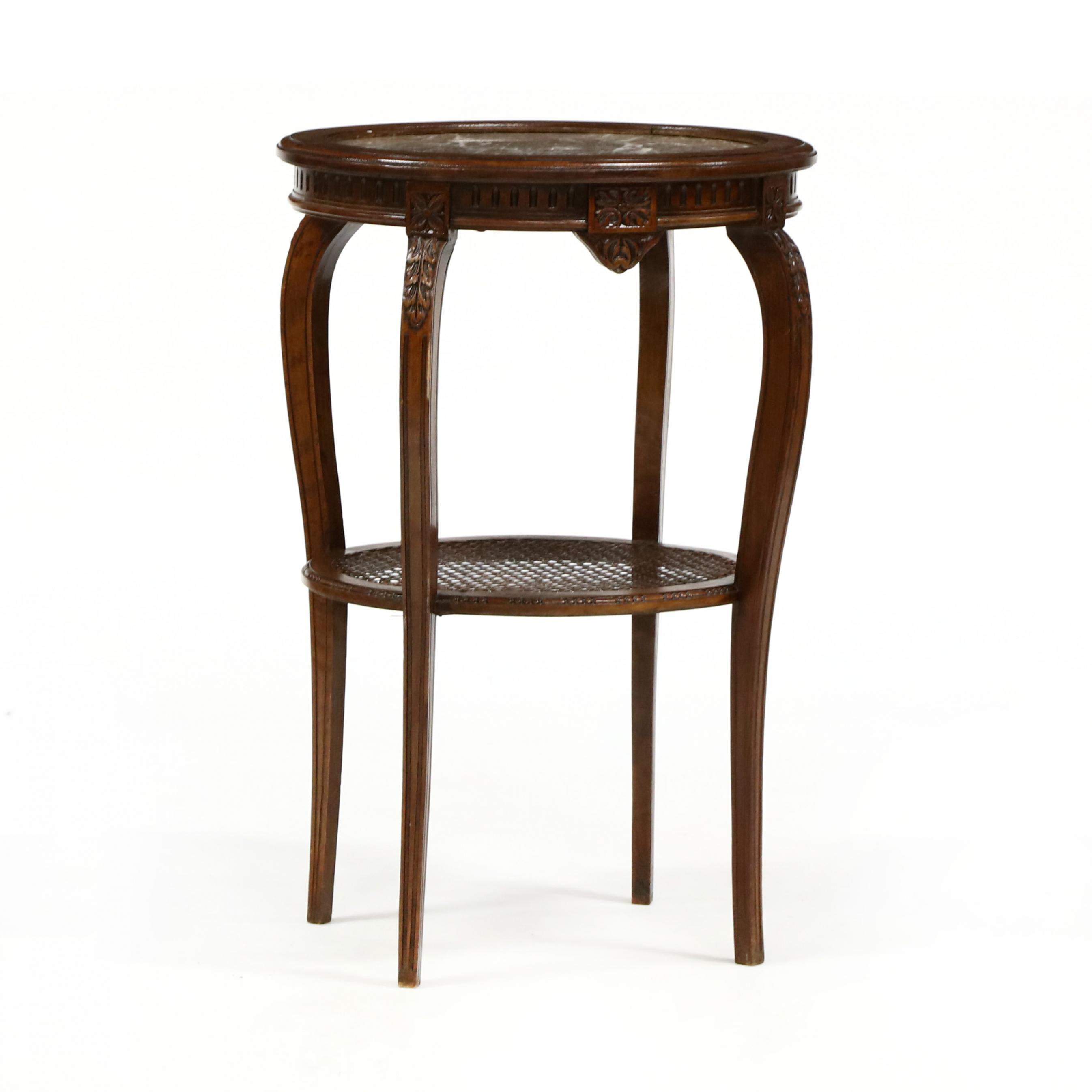 louis-xv-style-marble-top-side-table