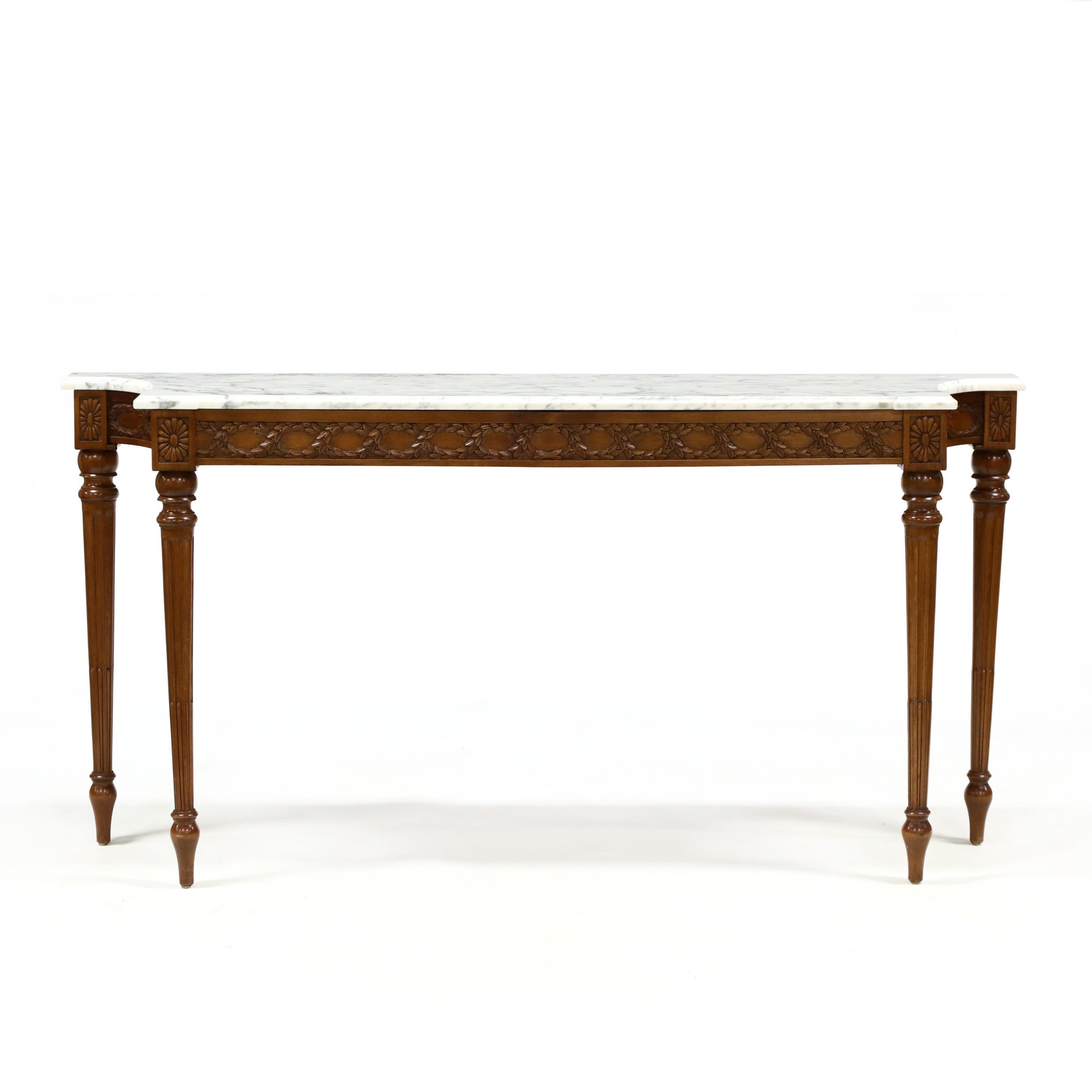 italianate-marble-top-mahogany-console-table