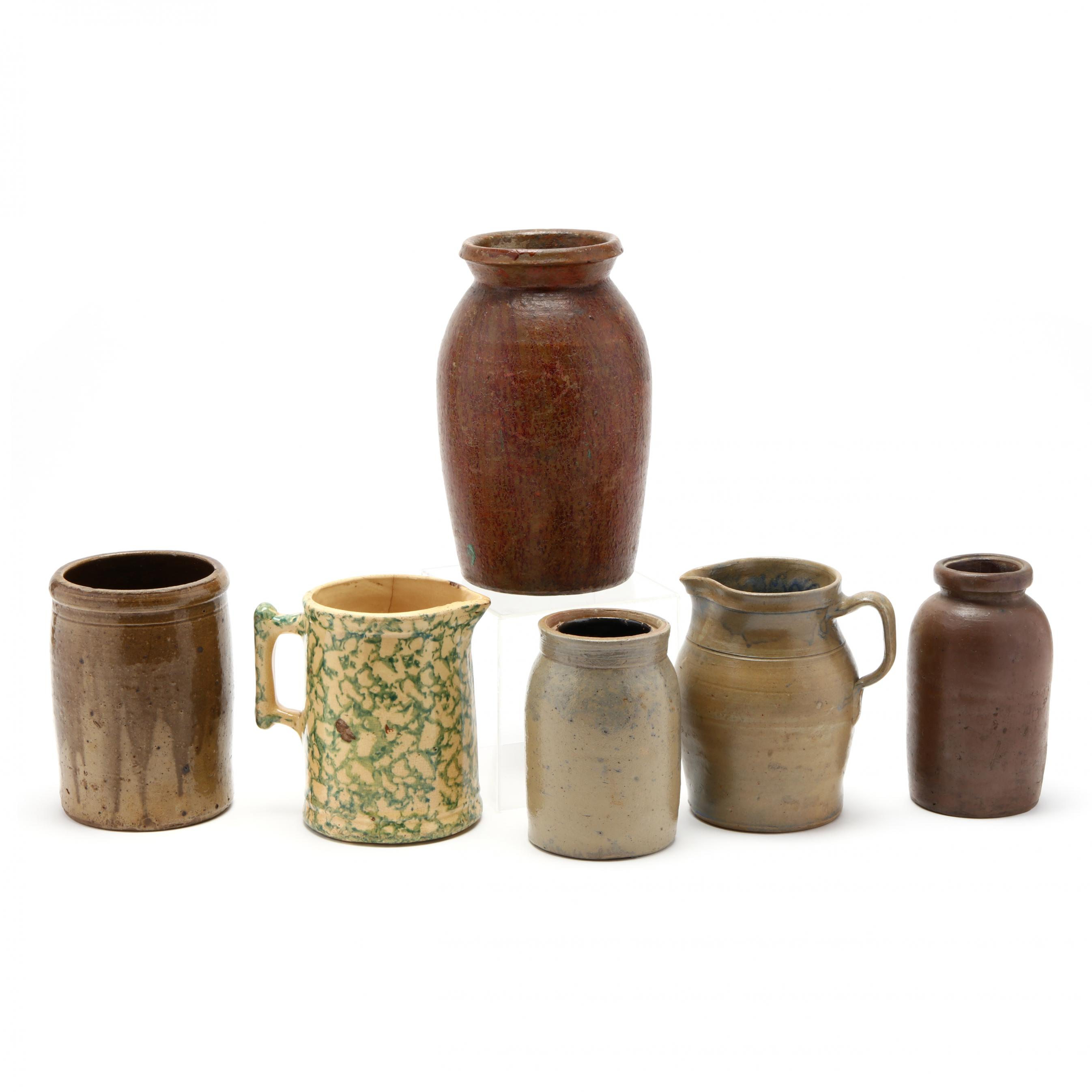 six-pieces-antique-stoneware