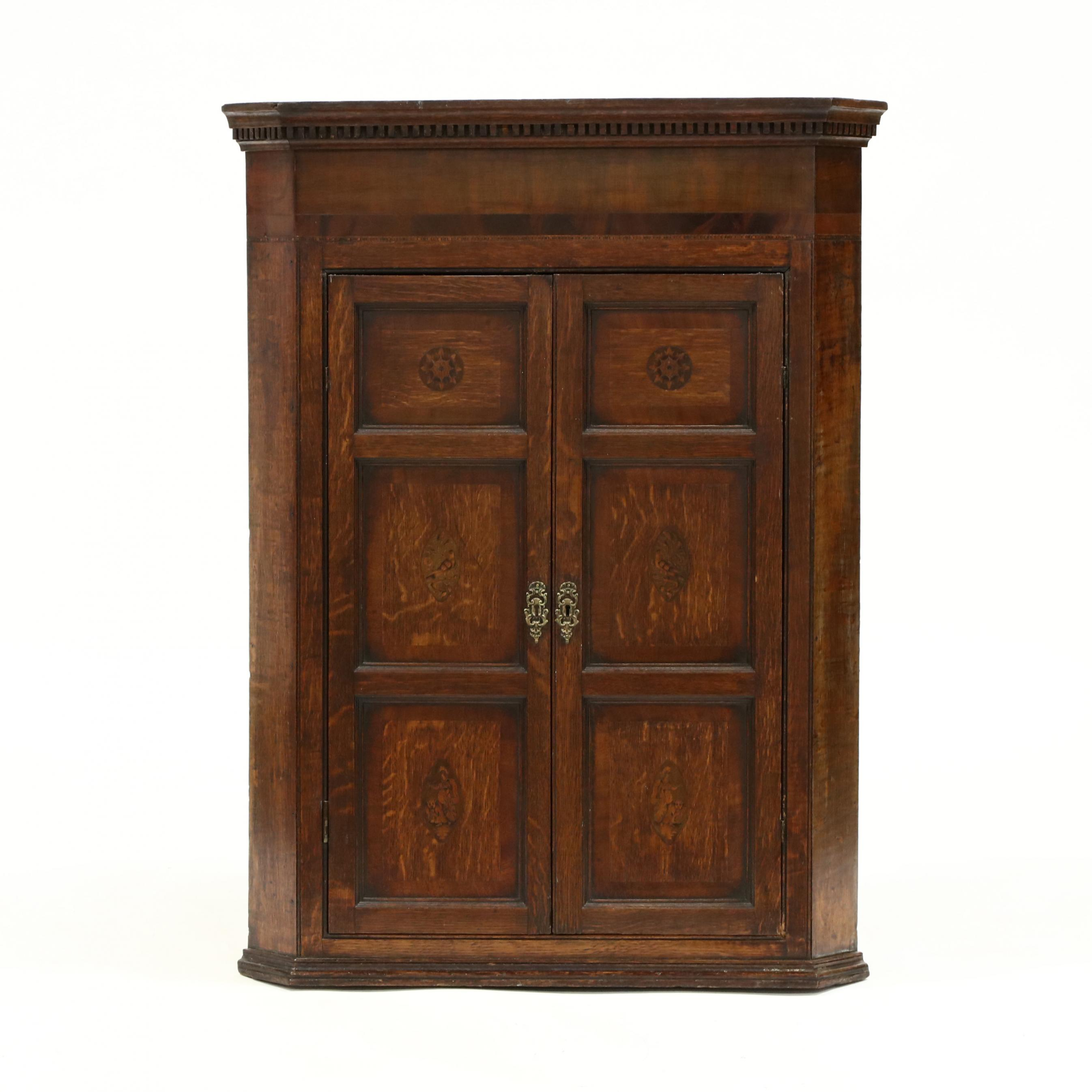george-iii-inlaid-oak-hanging-corner-cupboard