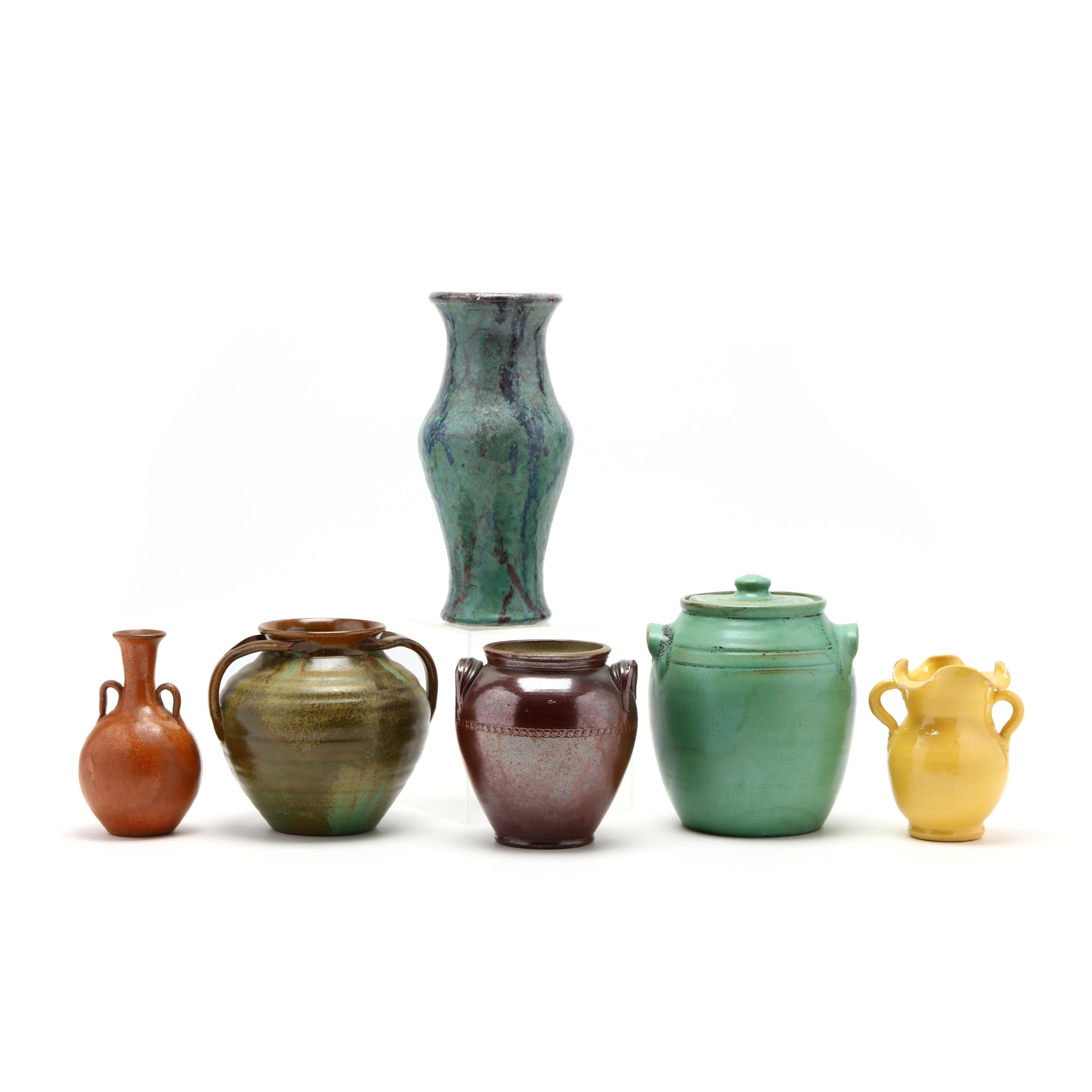 a-group-of-six-nc-pottery-articles
