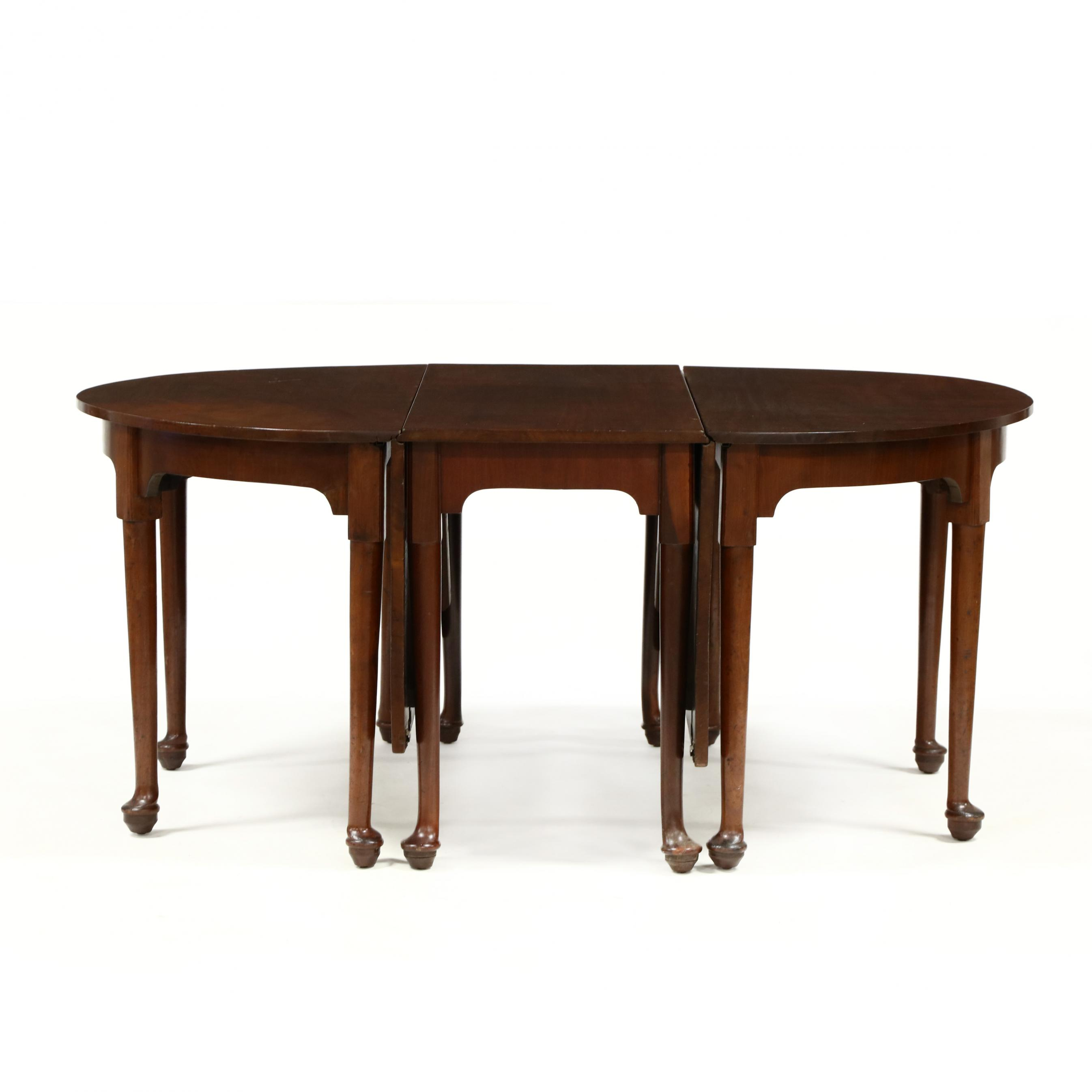 antique-english-queen-anne-style-mahogany-banquet-table