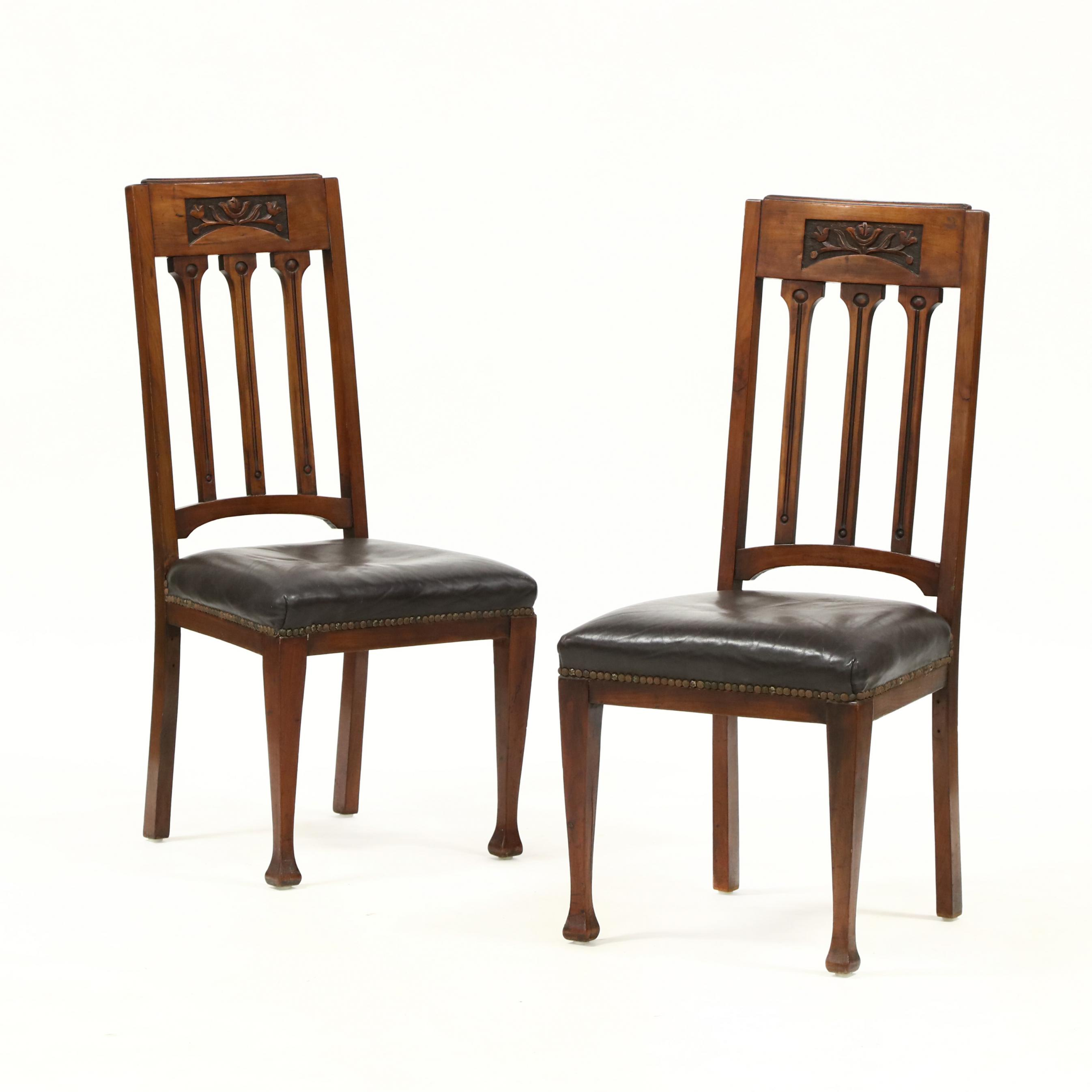 pair-of-art-nouveau-carved-mahogany-side-chairs