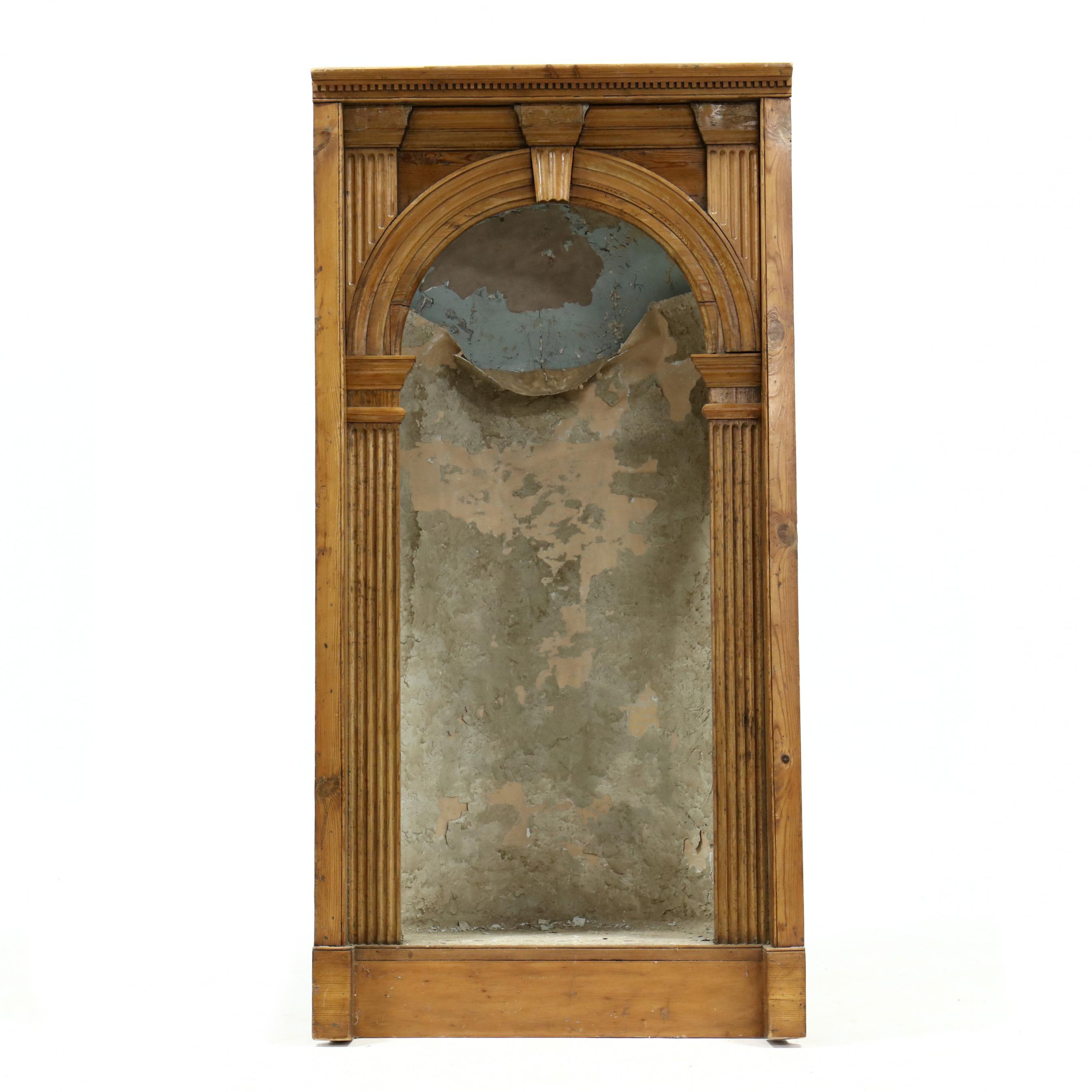 antique-continental-pine-built-in-niche