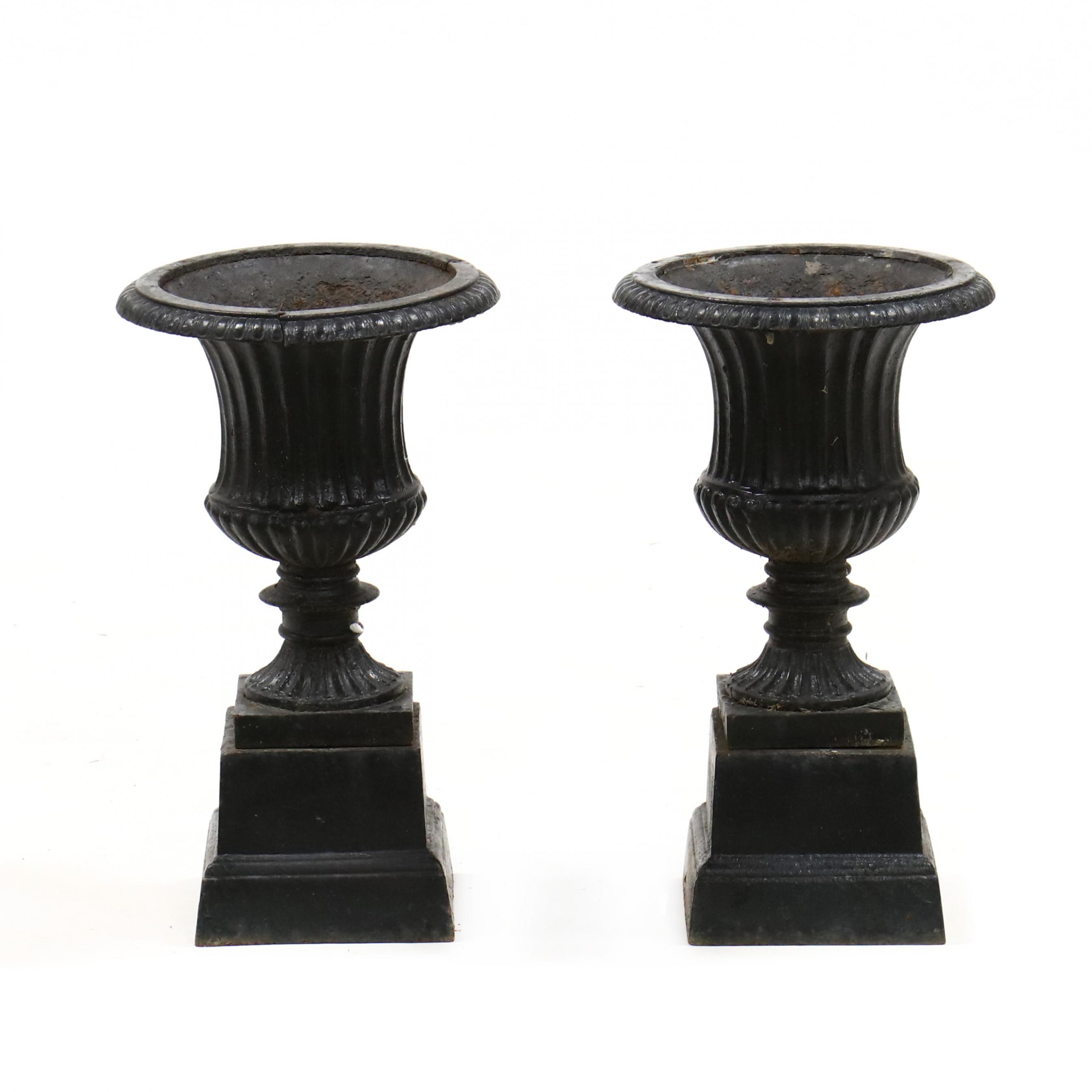 pair-of-vintage-diminutive-cast-iron-urns-on-stands