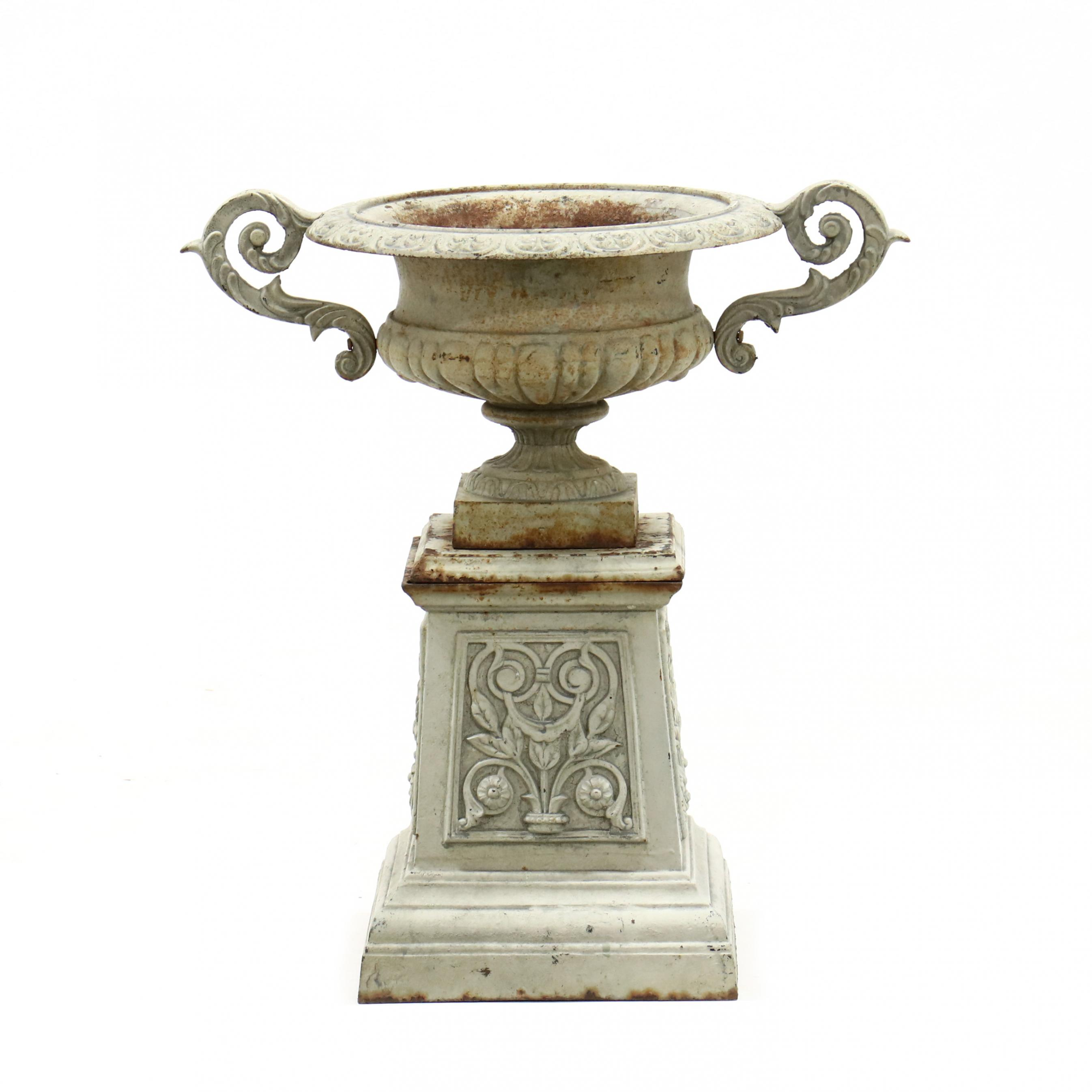 vintage-classical-style-garden-urn-on-stand