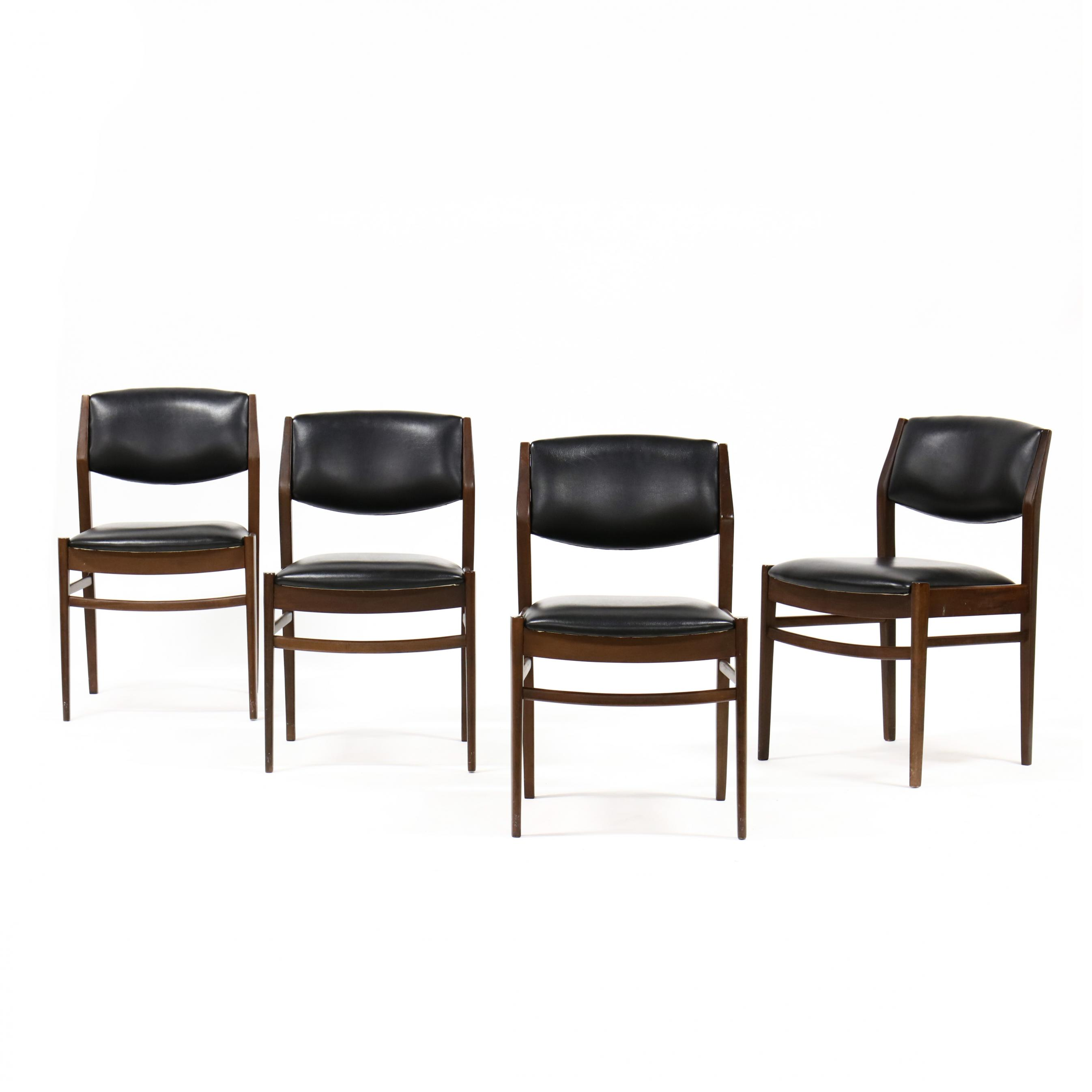set-of-four-danish-modern-dining-chairs