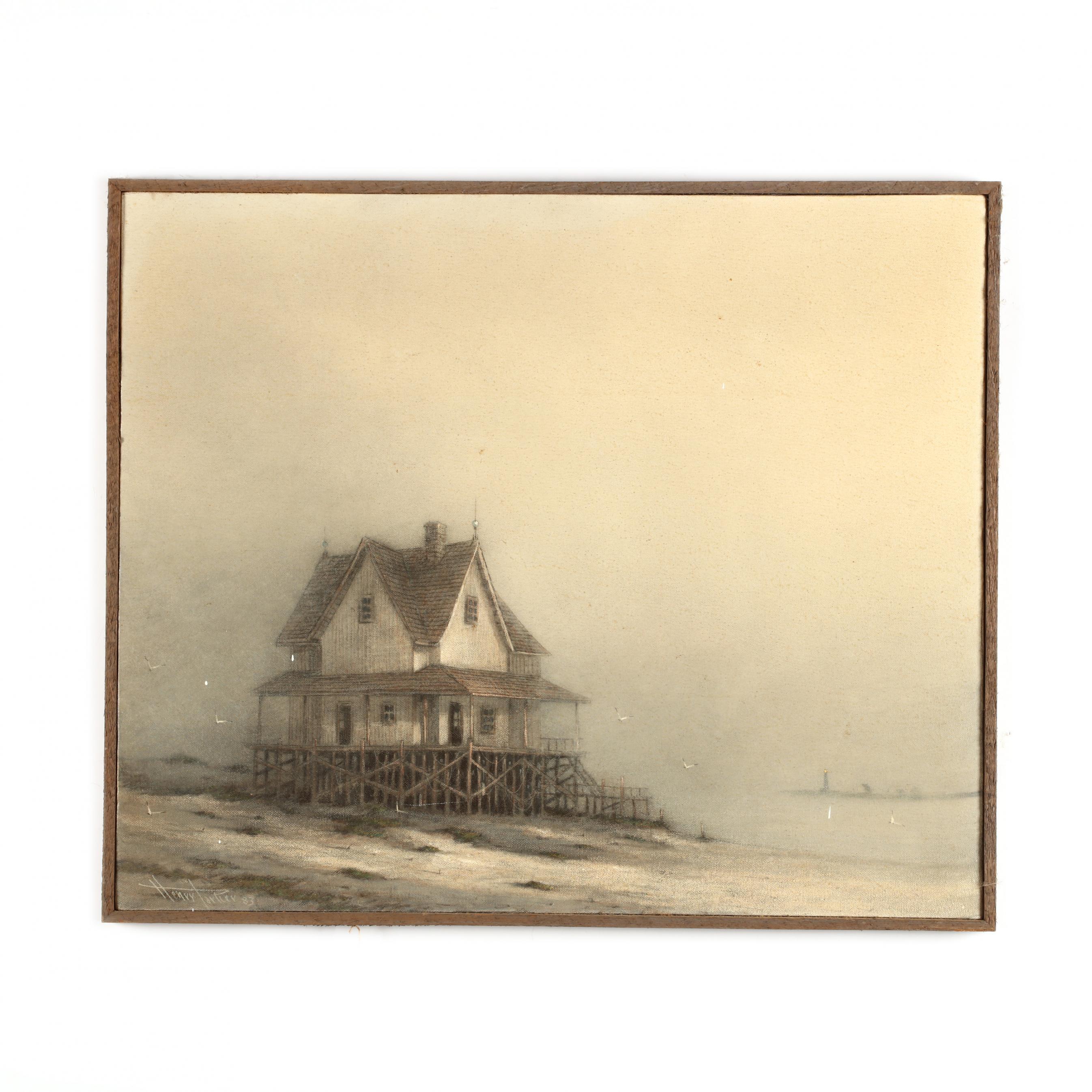 henry-parker-b-1938-fog-on-the-outer-banks