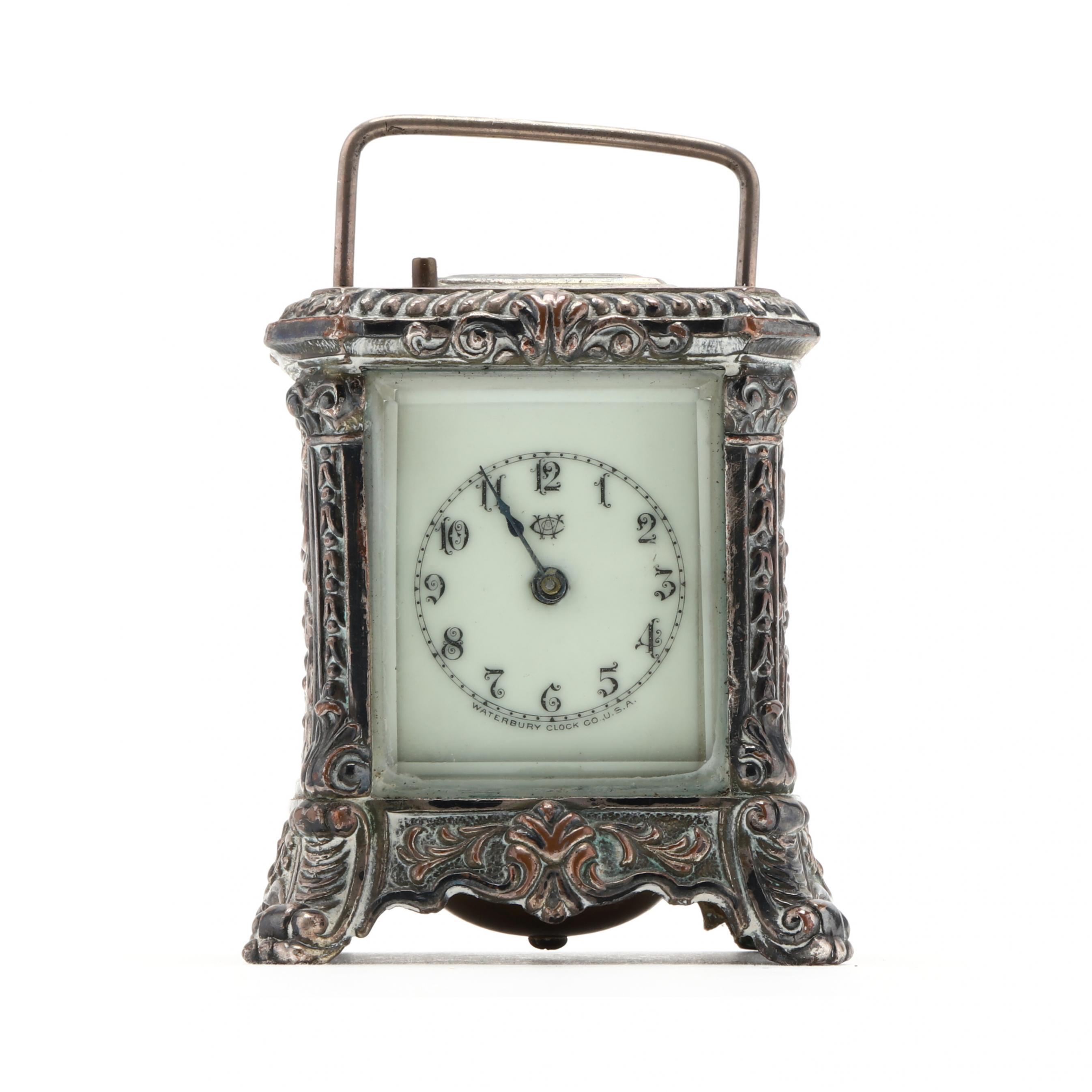 waterbury-silverplate-carriage-clock
