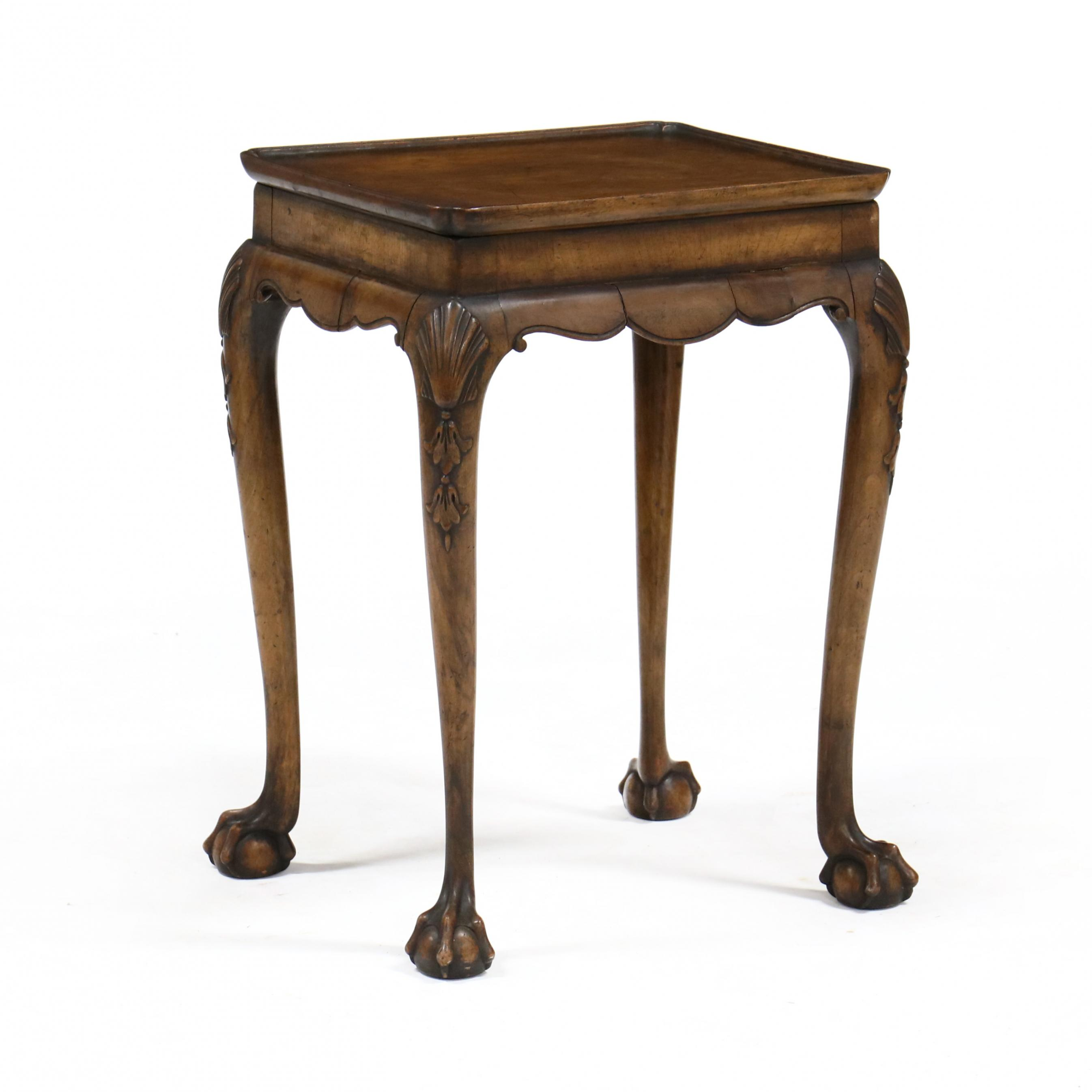 antique-english-chippendale-style-carved-diminutive-side-table